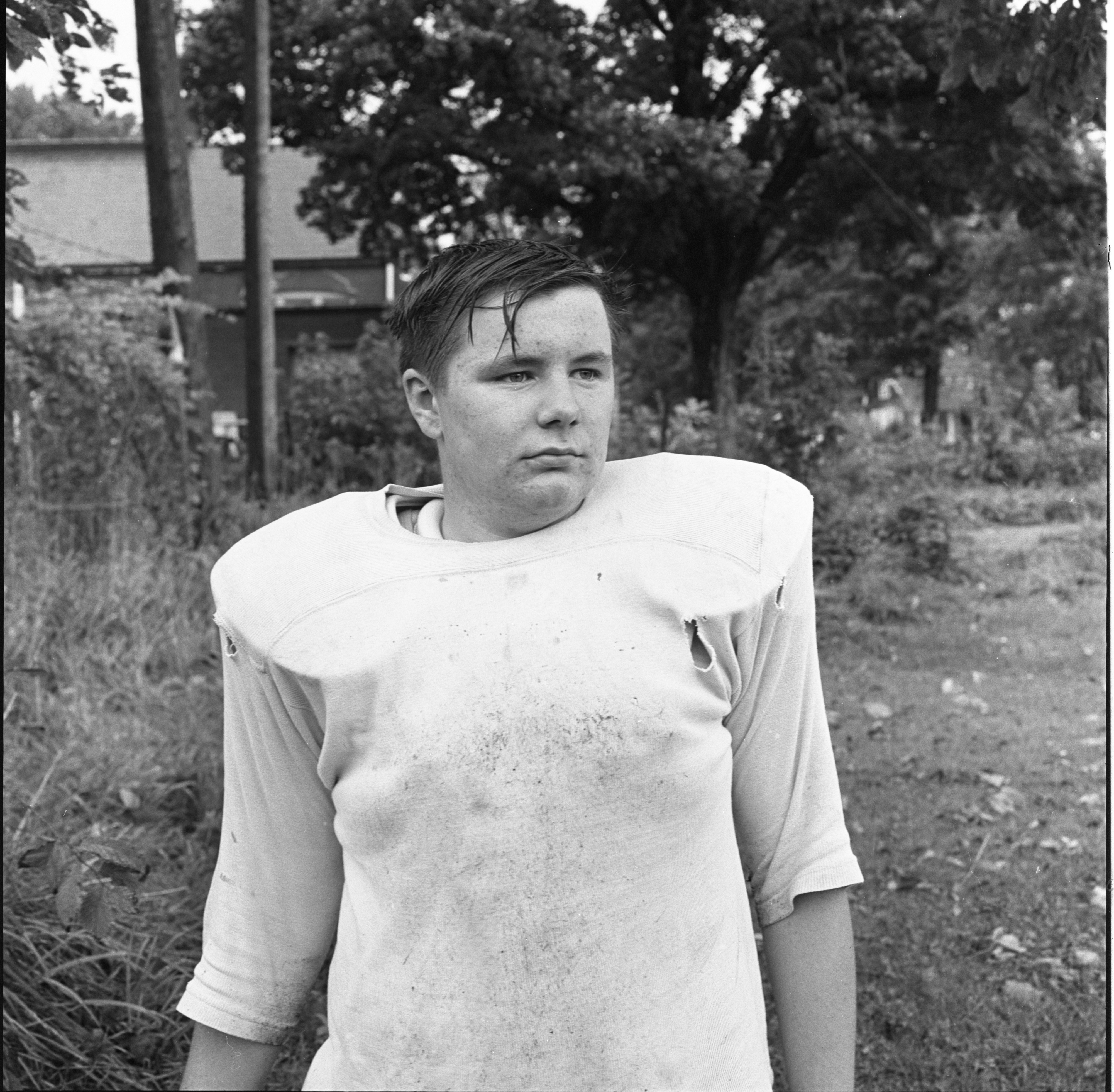 Bob Place - St. Thomas High School Football Team, October 1968 image