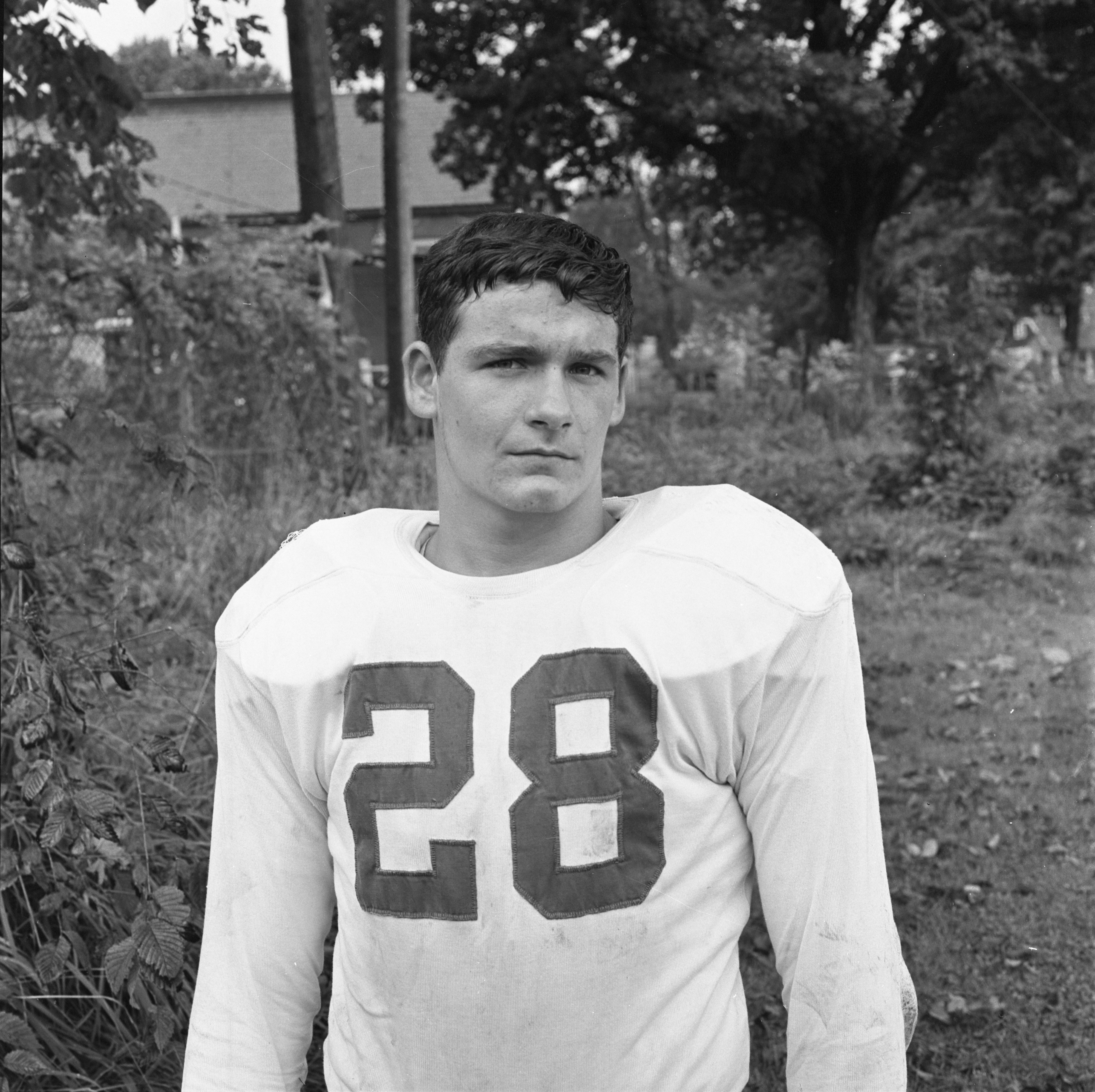 Jim Birmingham - St. Thomas High School Football Team, October 1968 image