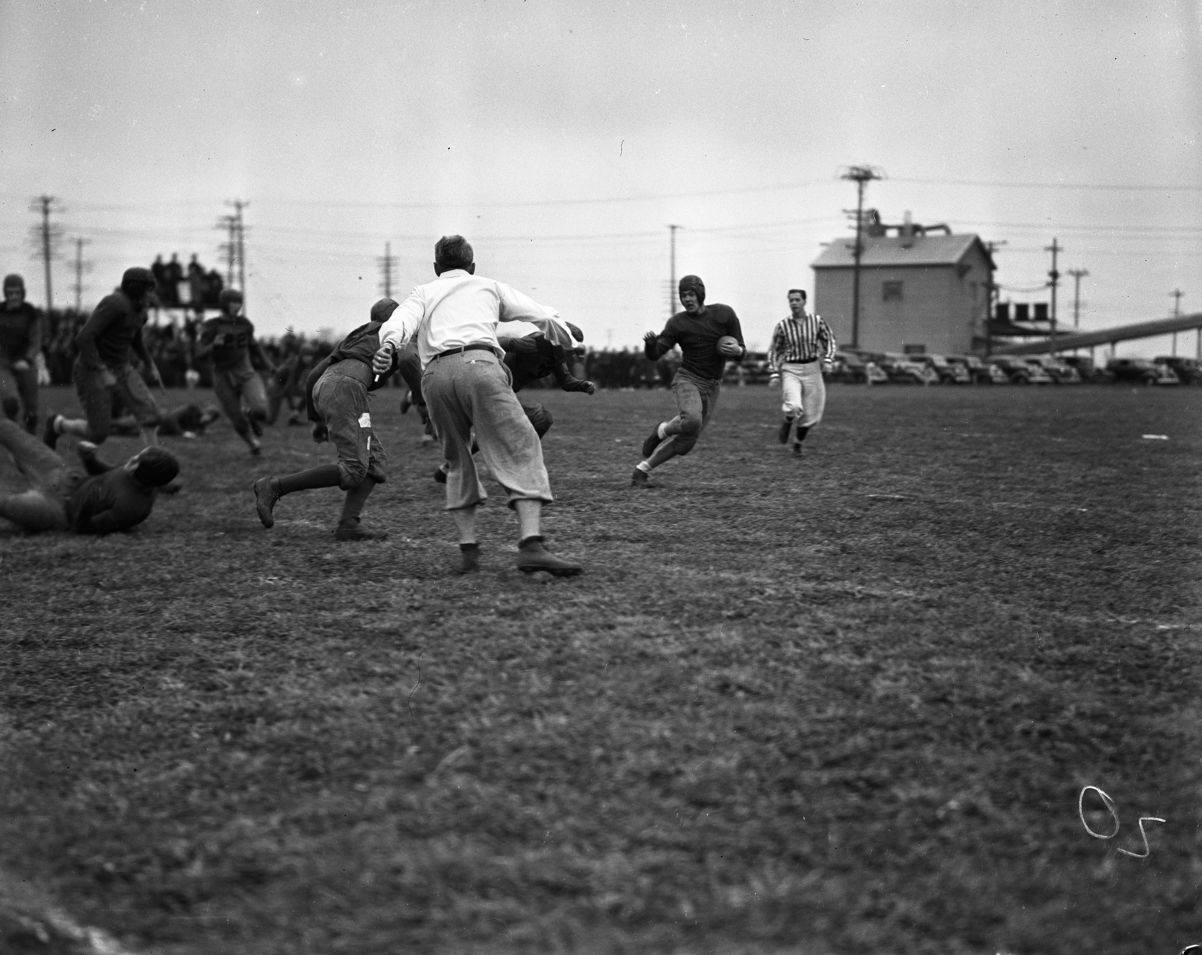 Dundee High School vs. Milan High School, November 1937 image