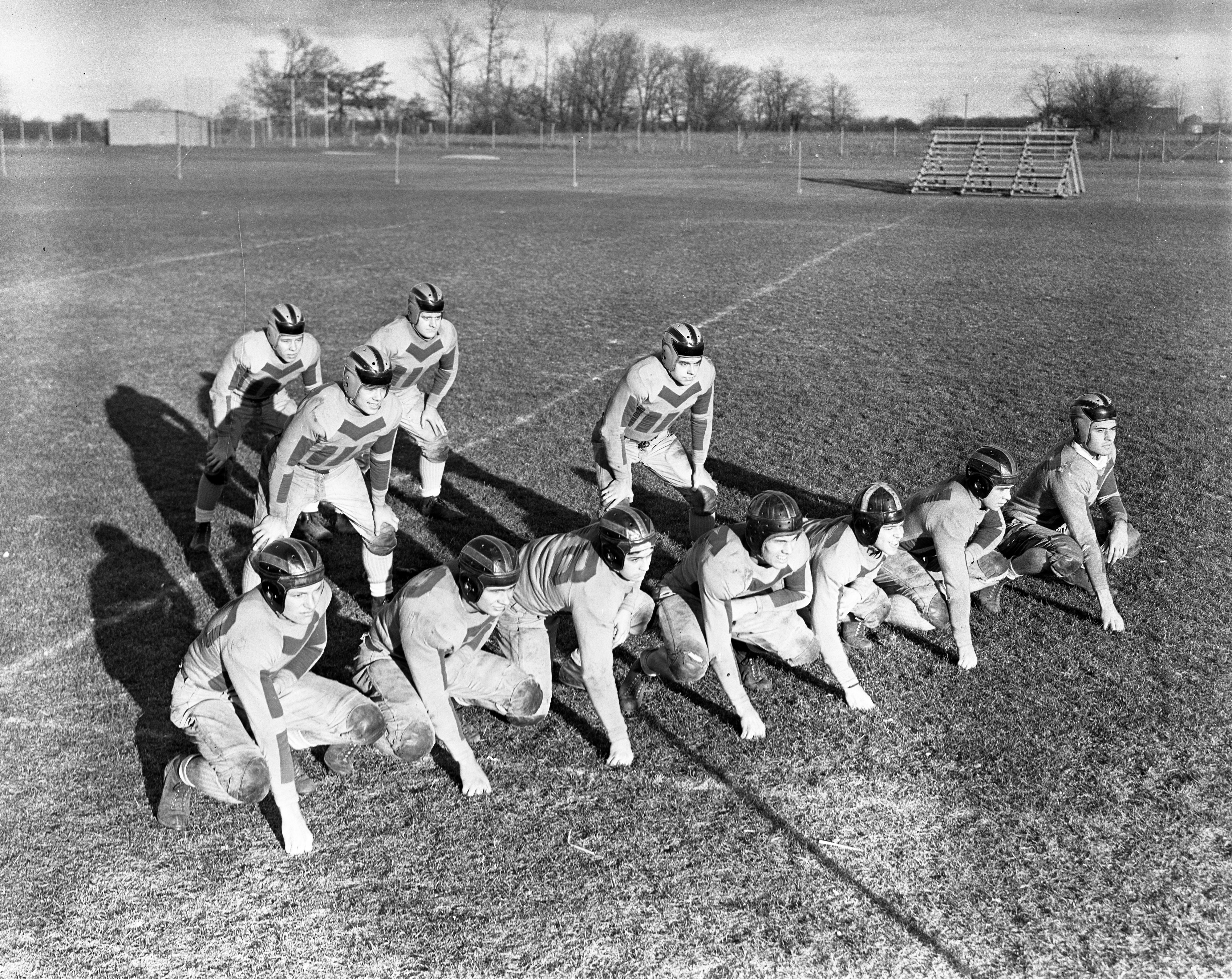 Chelsea High School Football Team, November 1938 image