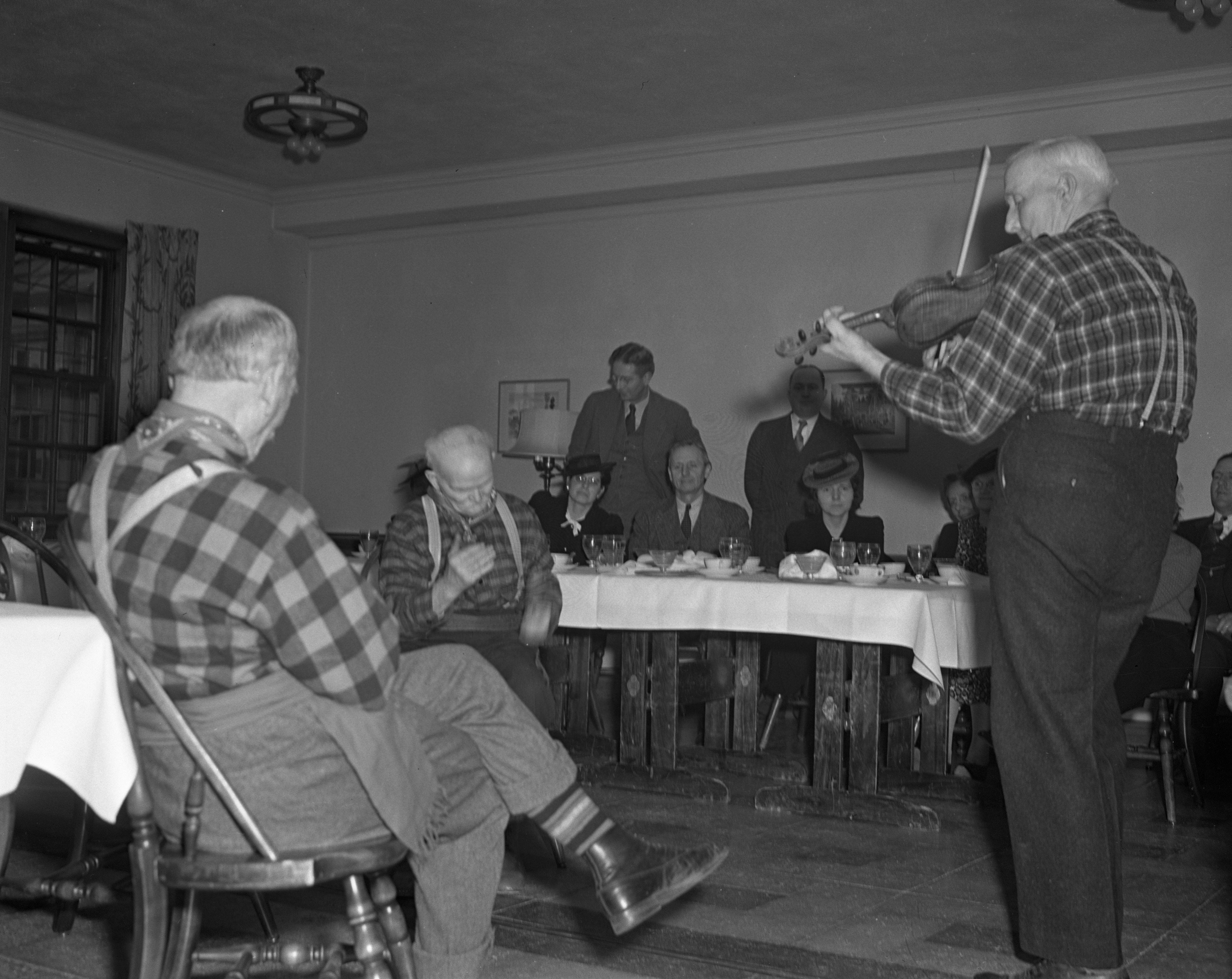 Lumberjacks Entertain Scholars At Luncheon, March 1941 image