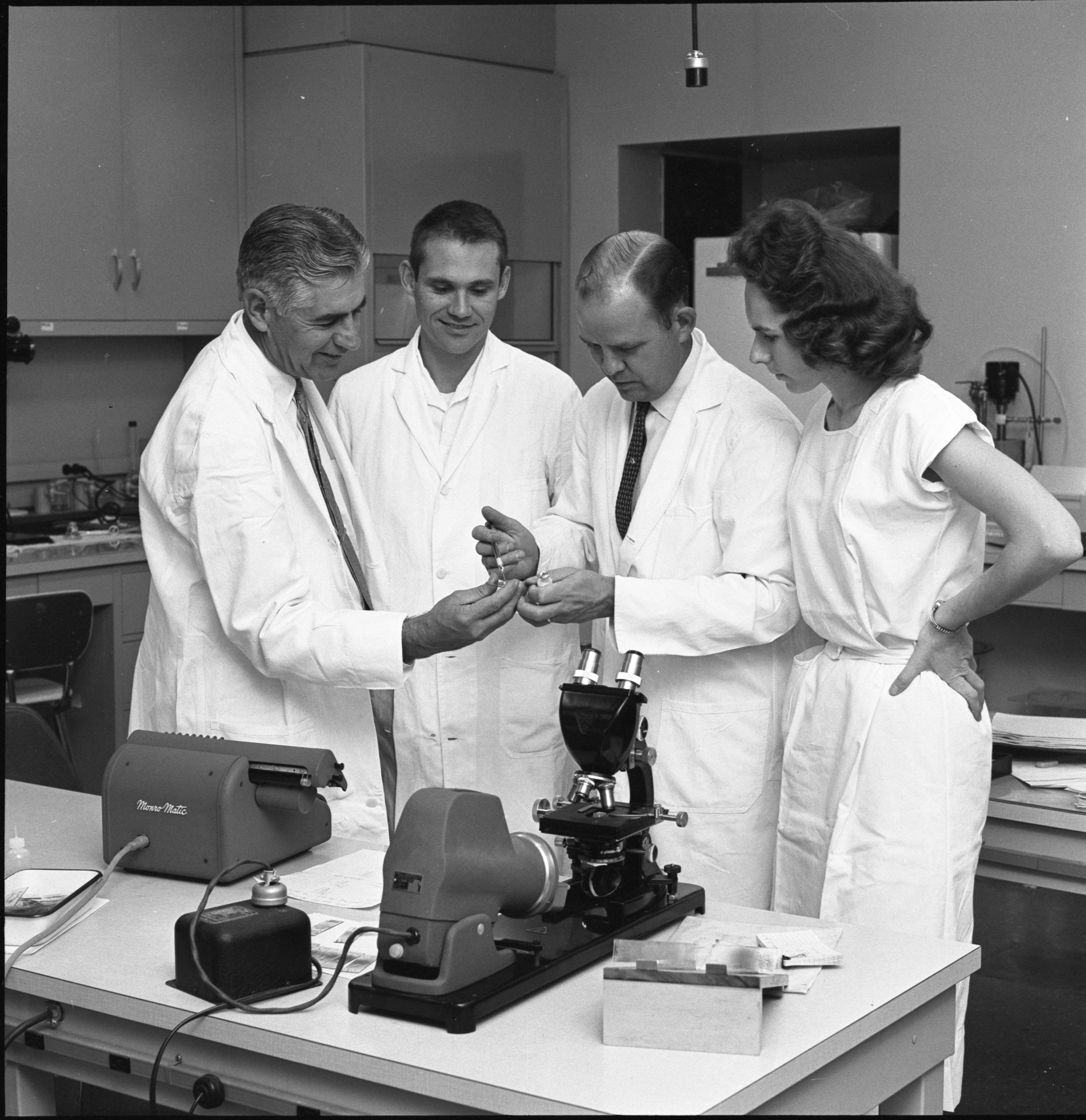 Parke Davis Scientists Who Developed A New Anti-Malaria Drug, November 1962 image