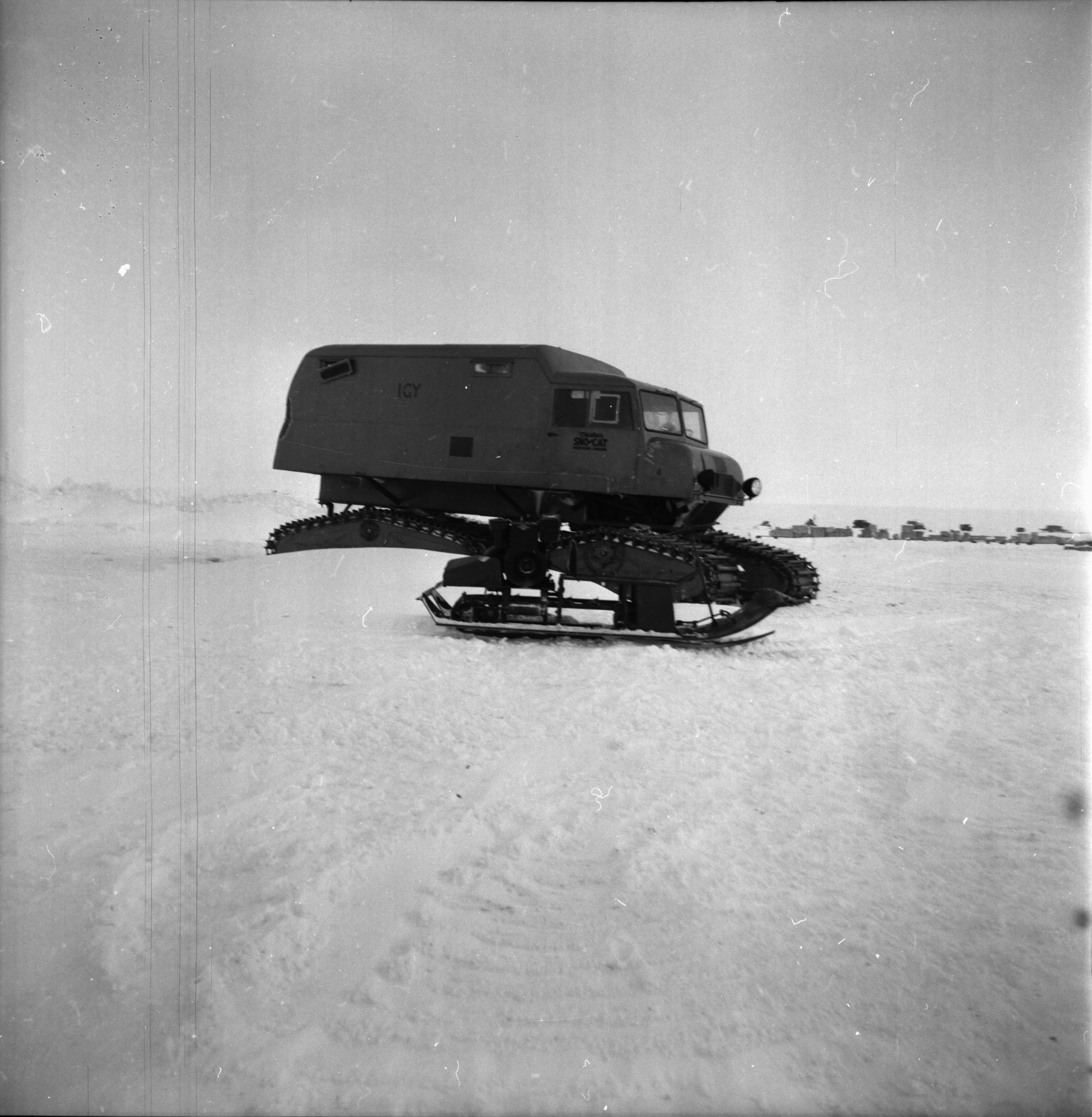 Transport Equipment, U-M Research Trip to Antarctica, November 1962 image