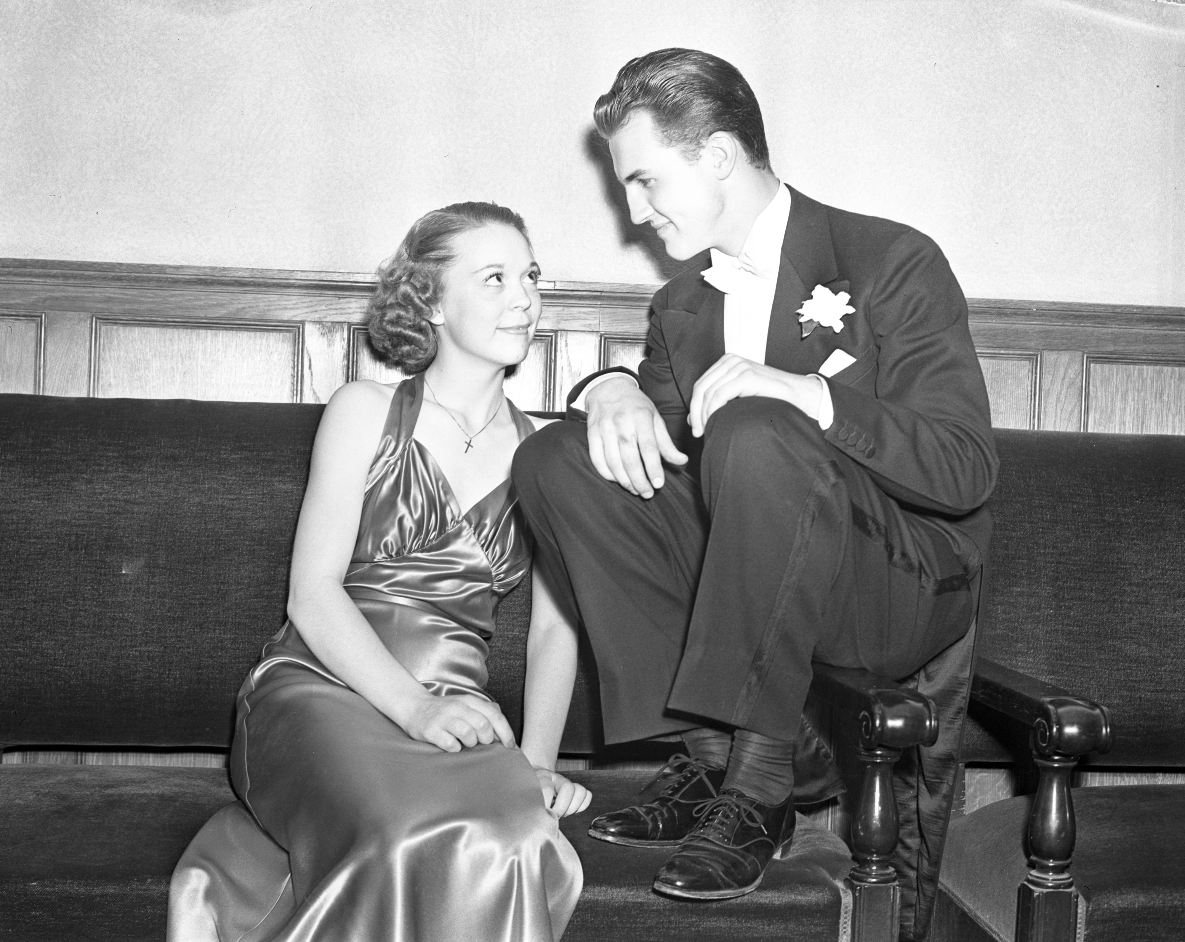 Image from At the Easter Ball, April 19, 1938