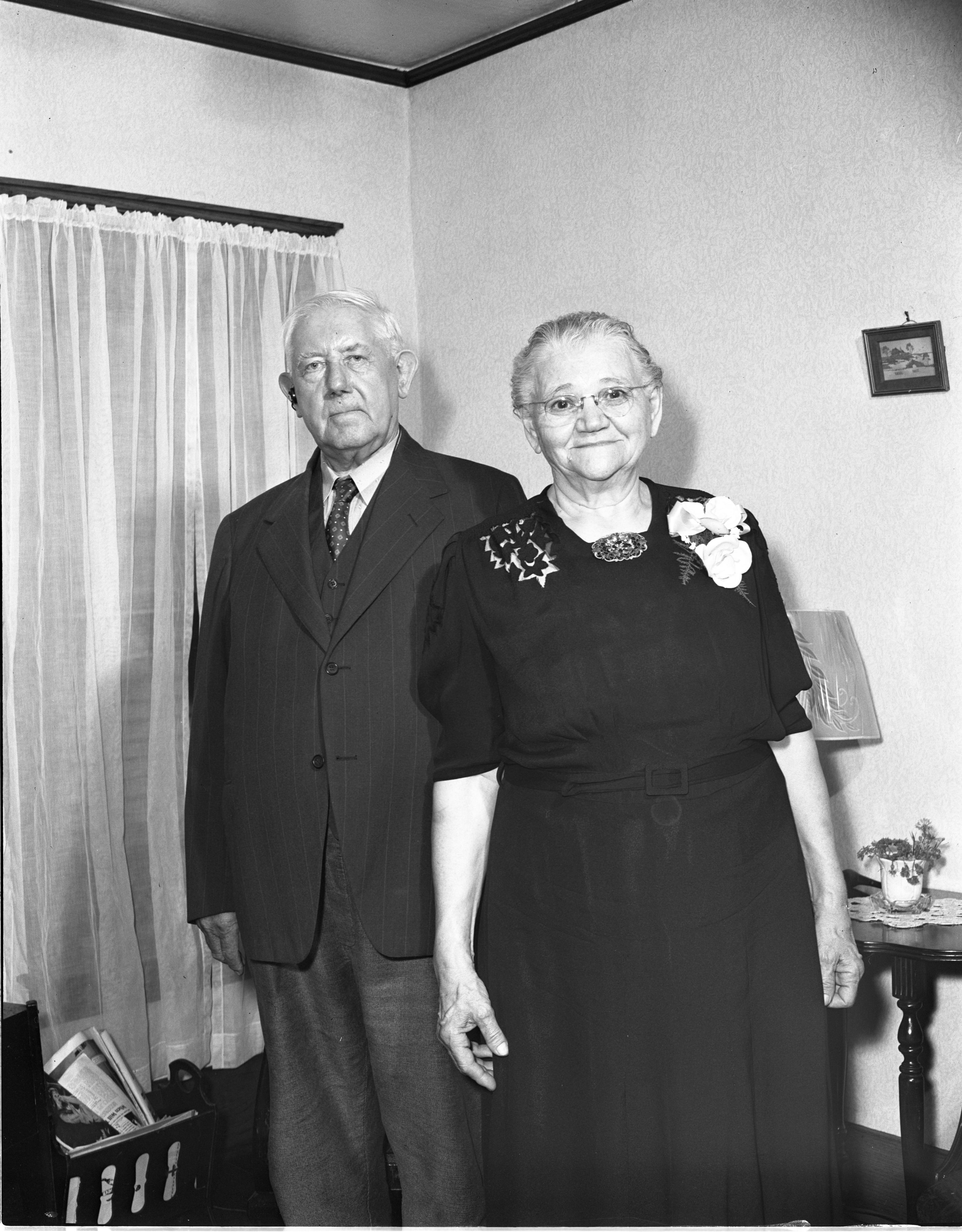 Herman & Catherine Busch - Married 50 Years, June 1944 image