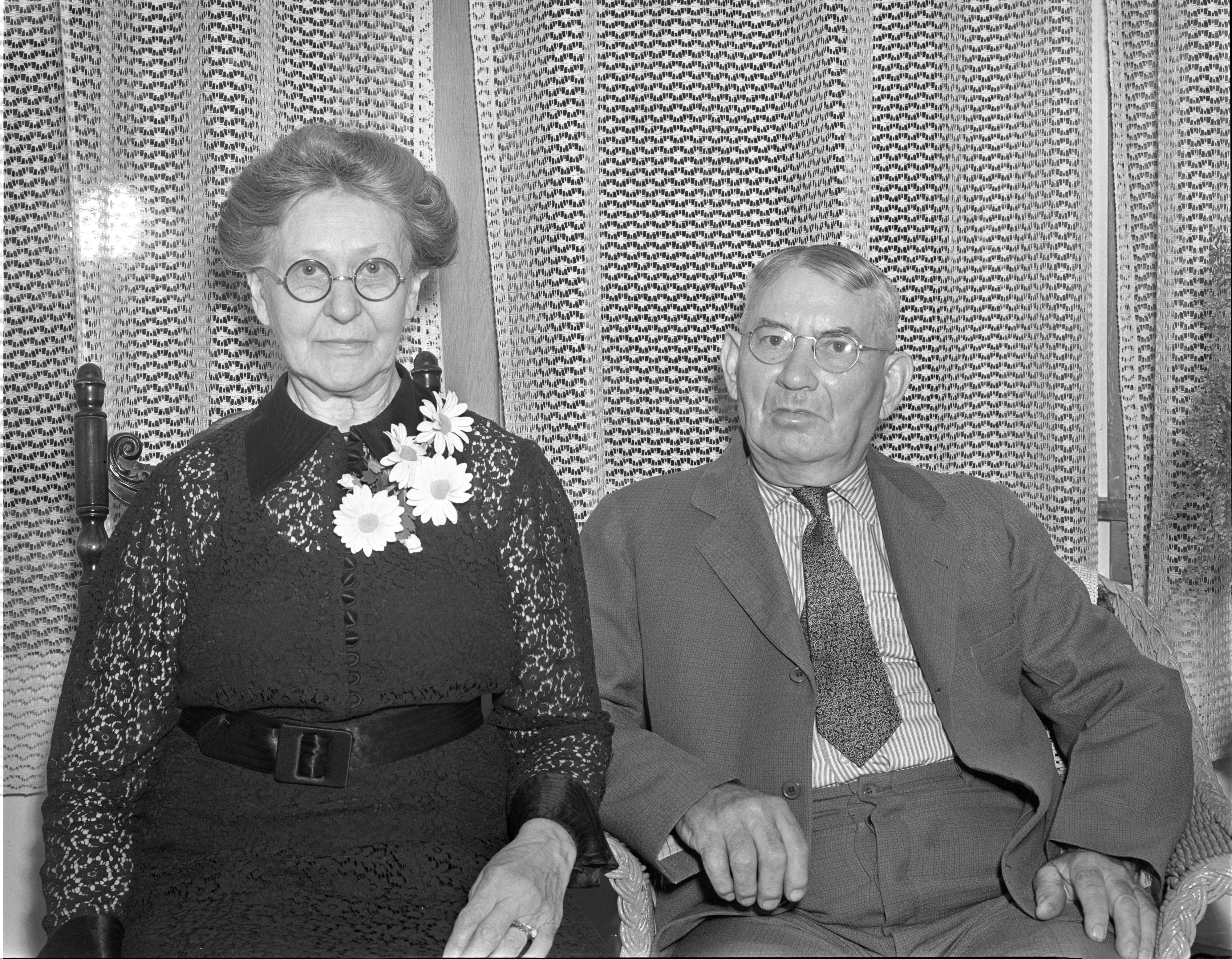 Mr. and Mrs. Charles F. Pardon, June 1938 image