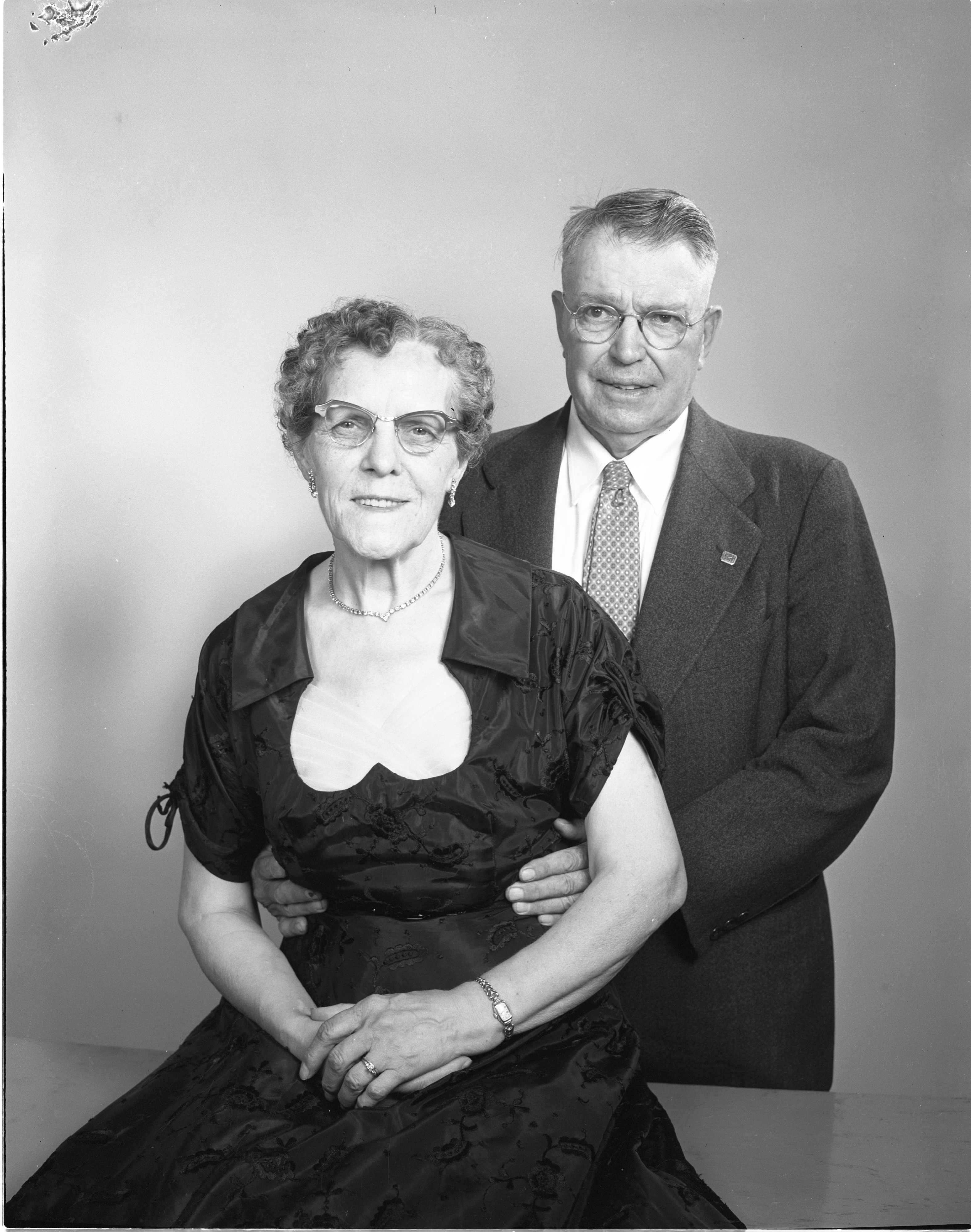 Betty & John Wrathell - Married 50 Years, June 1956 image