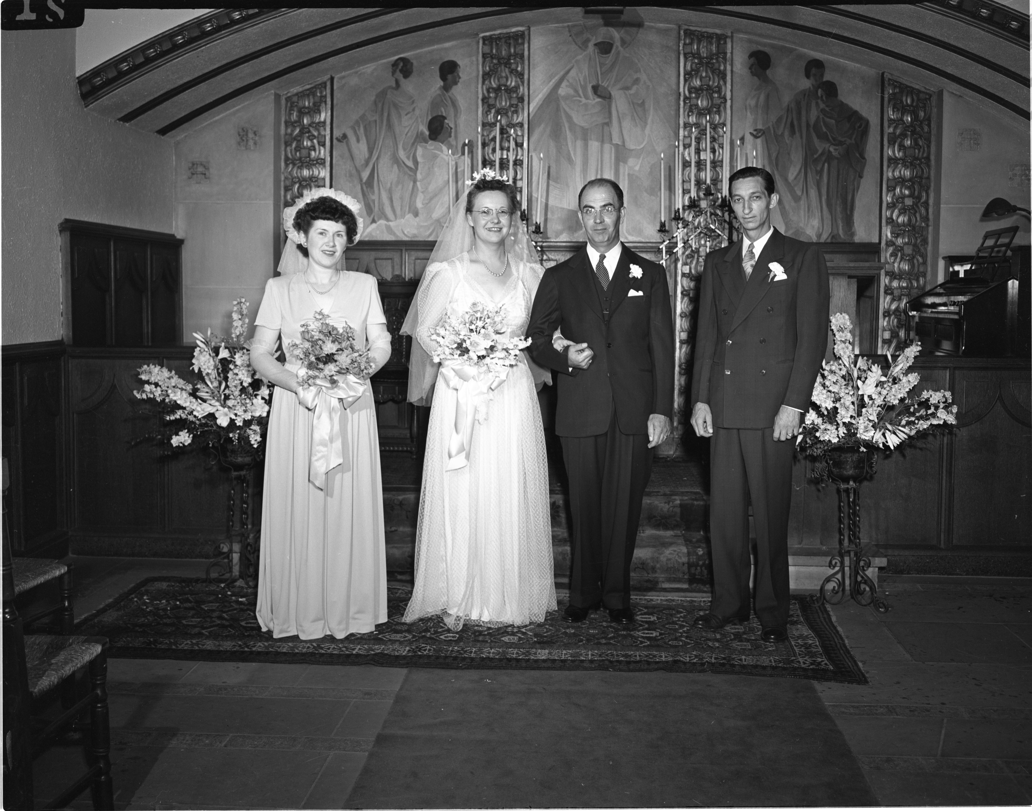 Hoffstetter Youd Wedding At The Michigan League Chapel