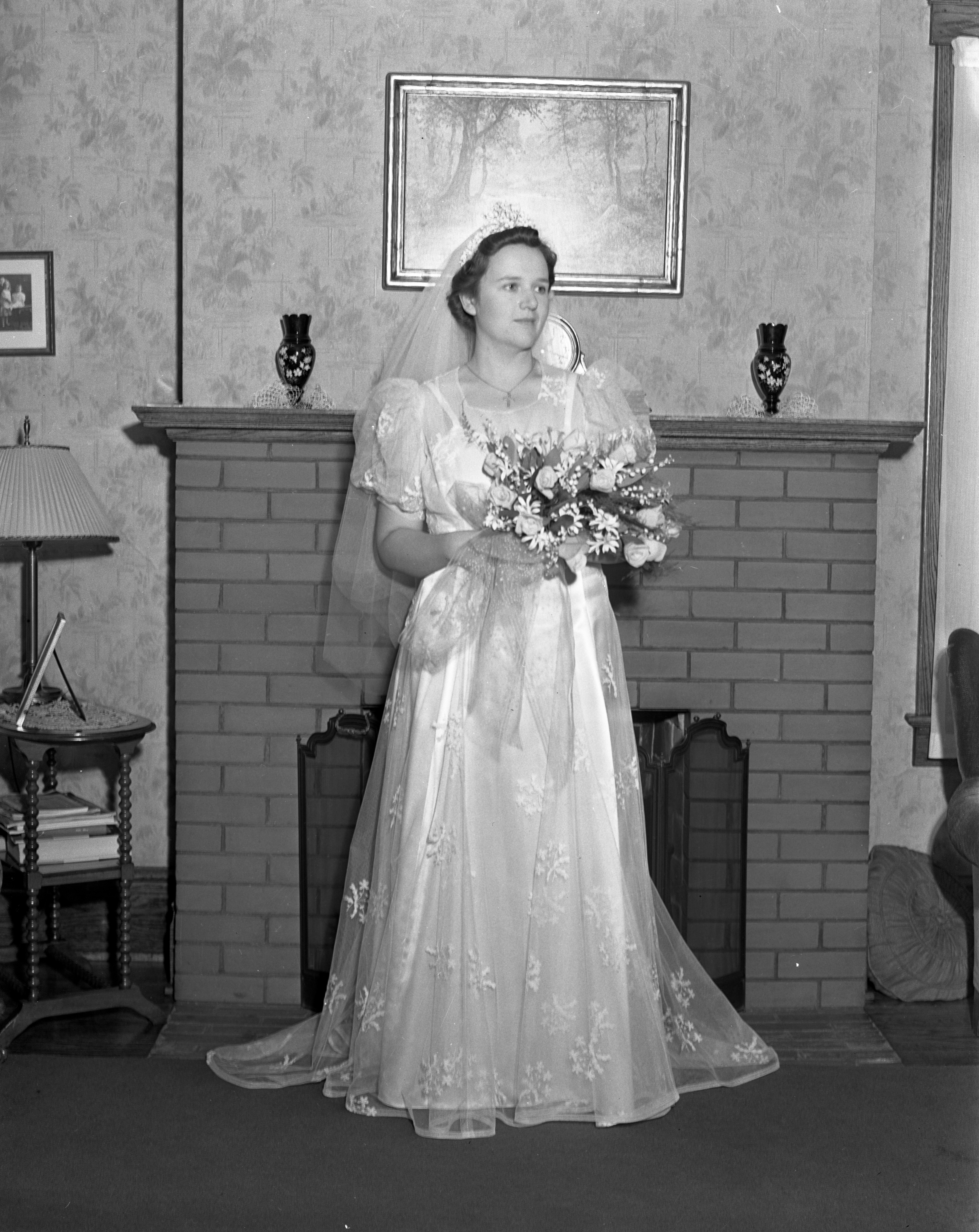 Dorothy Walker Wedding, August 1938 image