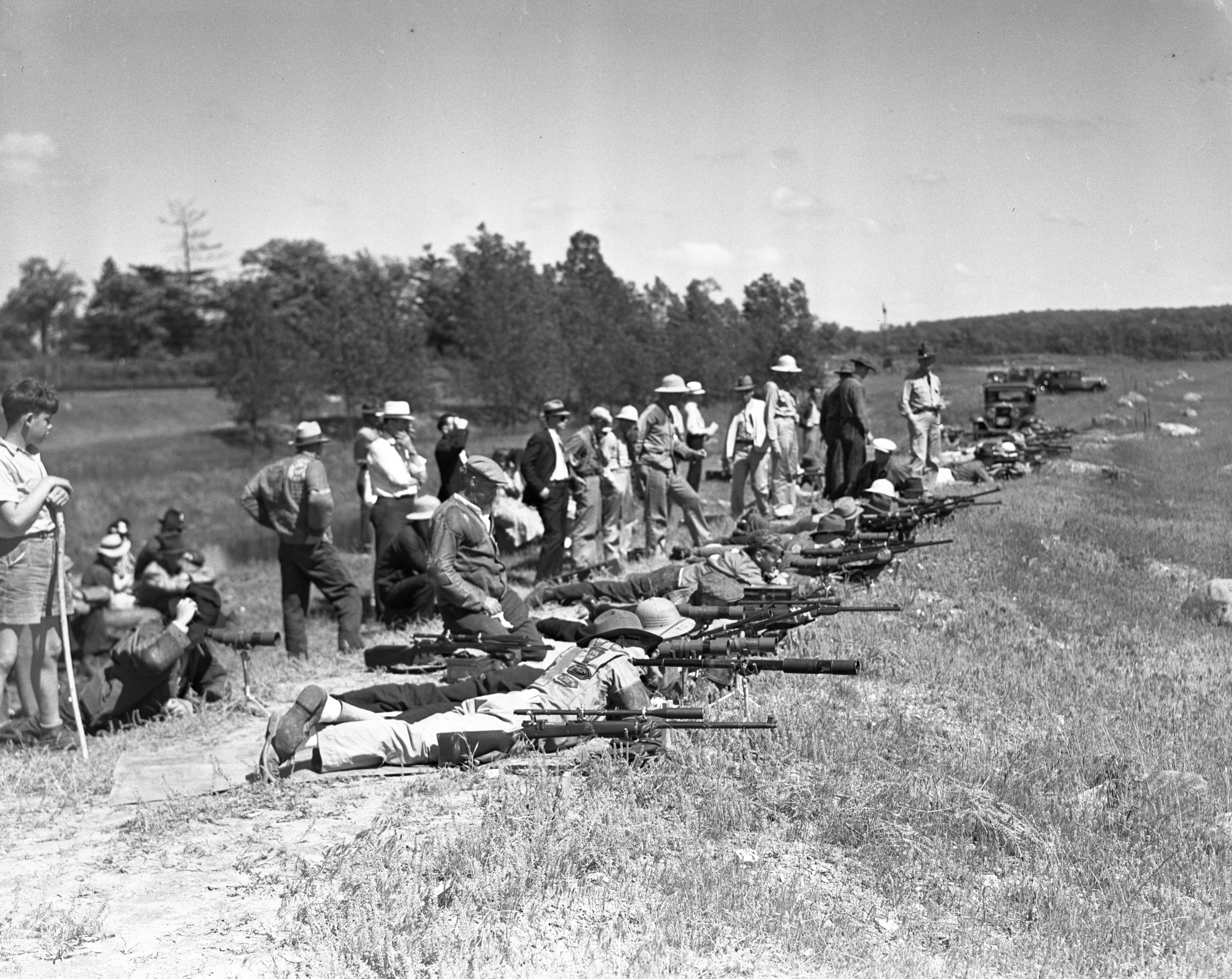 Rifle Shoot at Osborne's Pit, June 6, 1937 image
