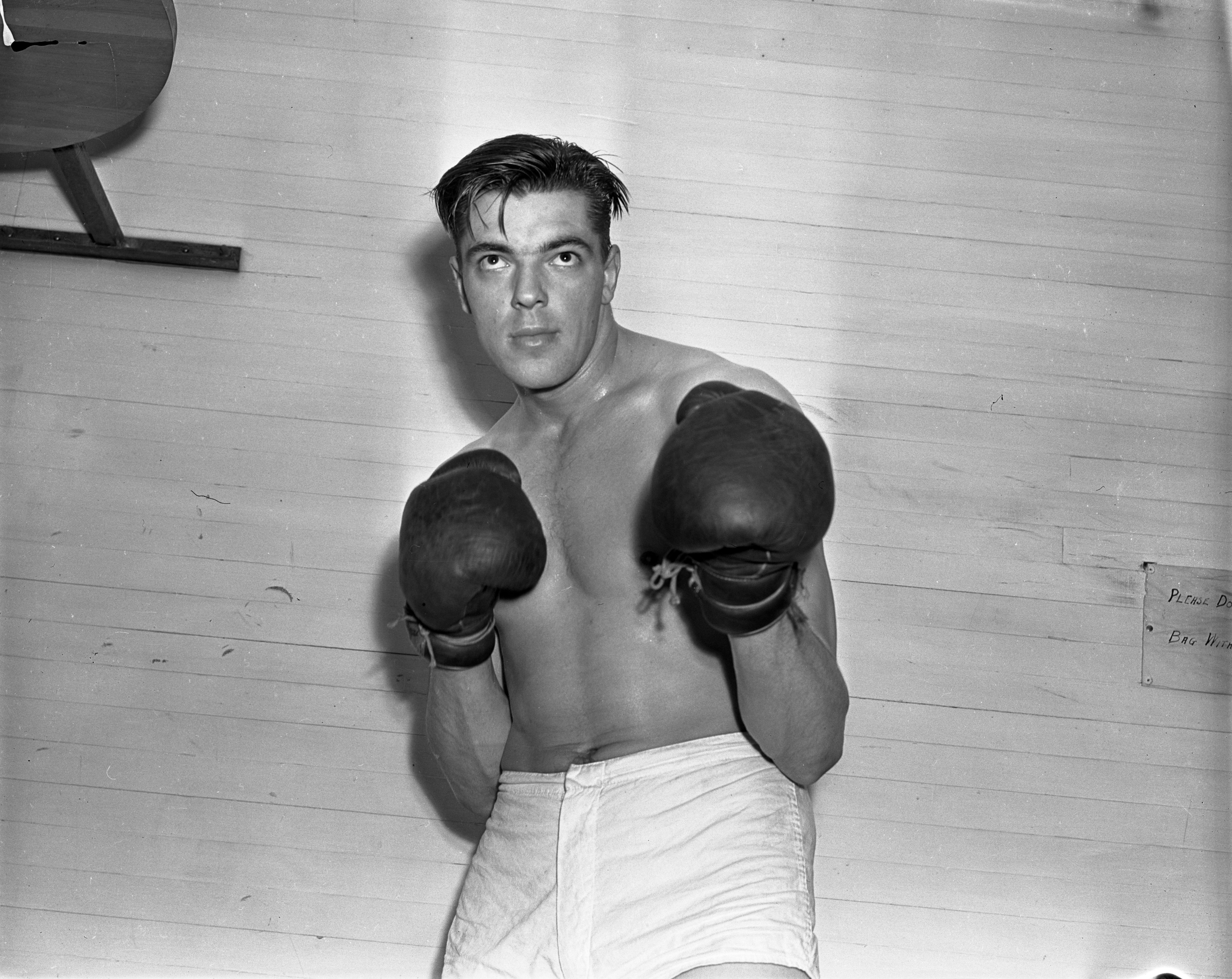 Boxer Don Siegel, 1939 image