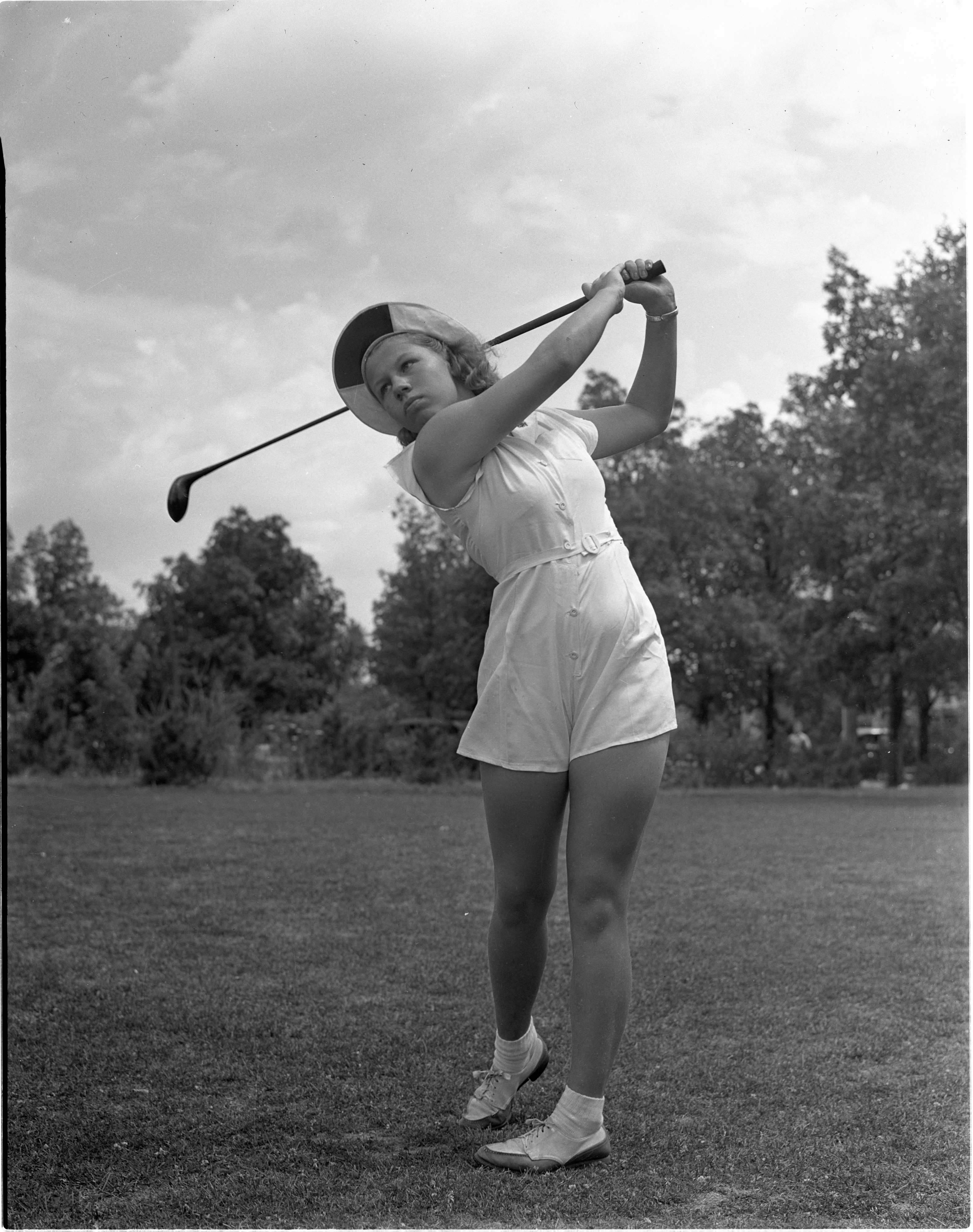 Betty Jane Courtright - Ann Arbor Golfer, July 1939 image