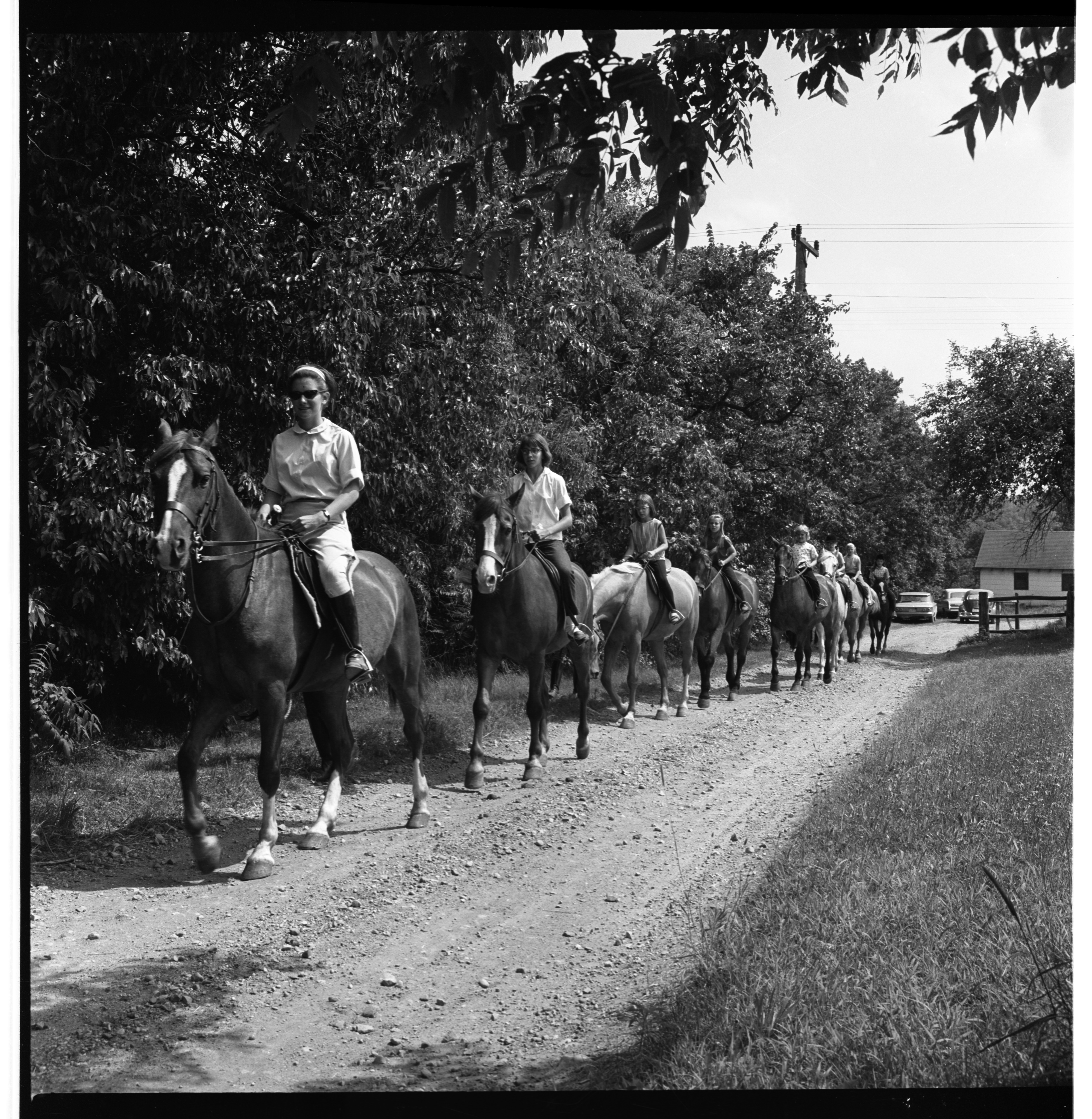 Everett's Riding School - Summer Camp, July 1964 image