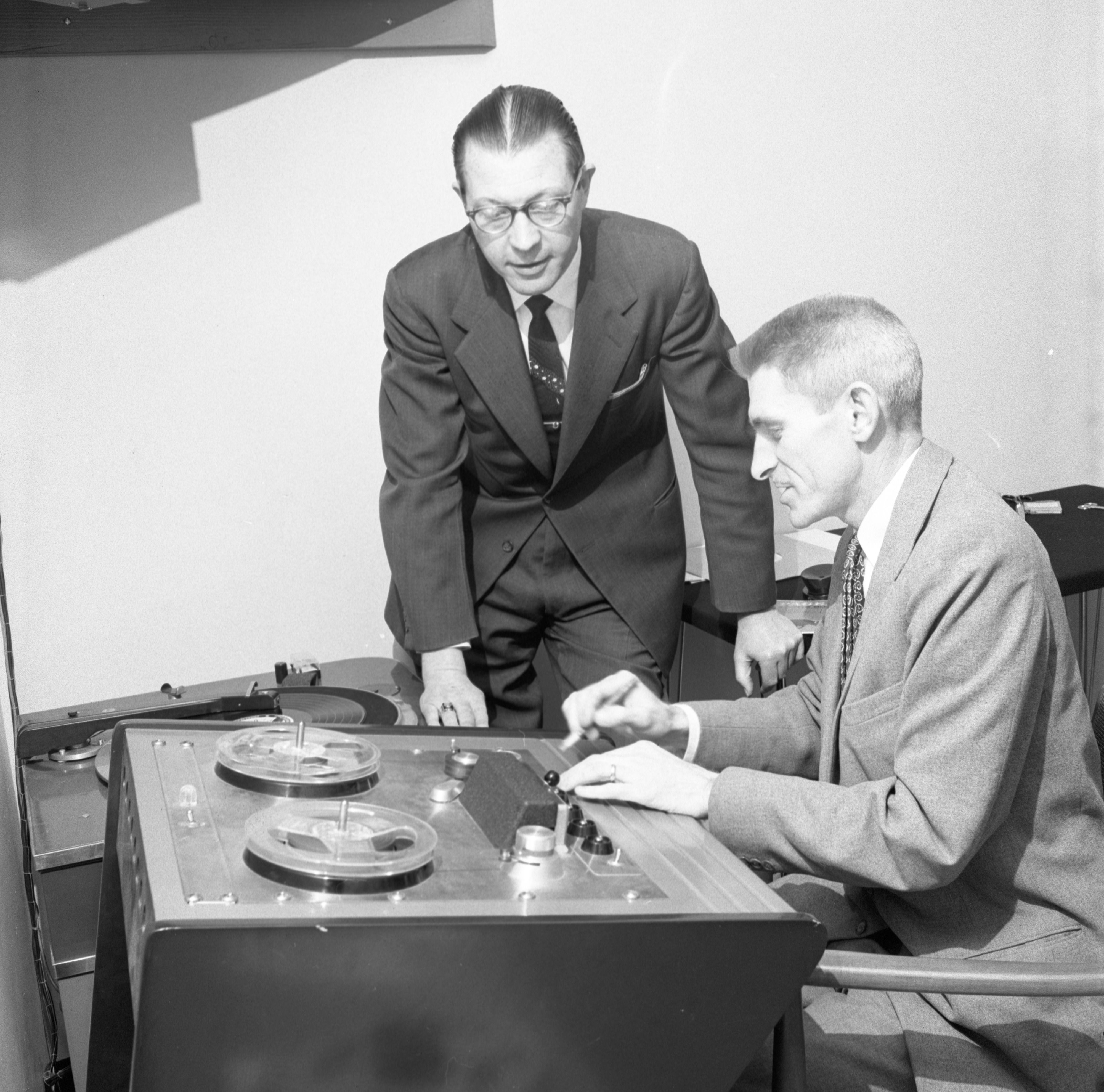 Music Preparation For Ann Arbor Figure Skating Club 'Melody On Ice' Show, March 1959 image