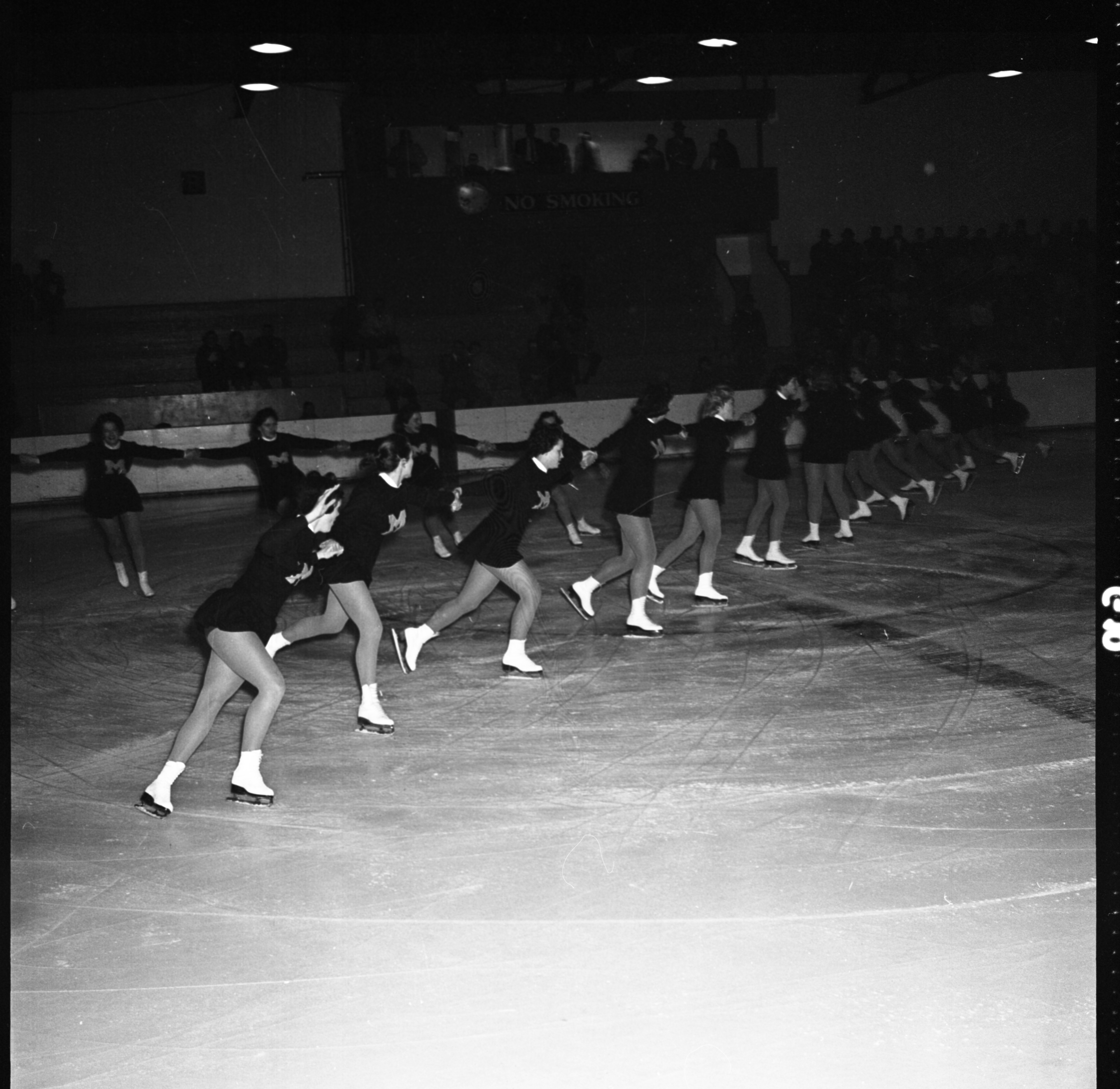 "The University of Michigan ""Hockettes,"" February 1960 image"
