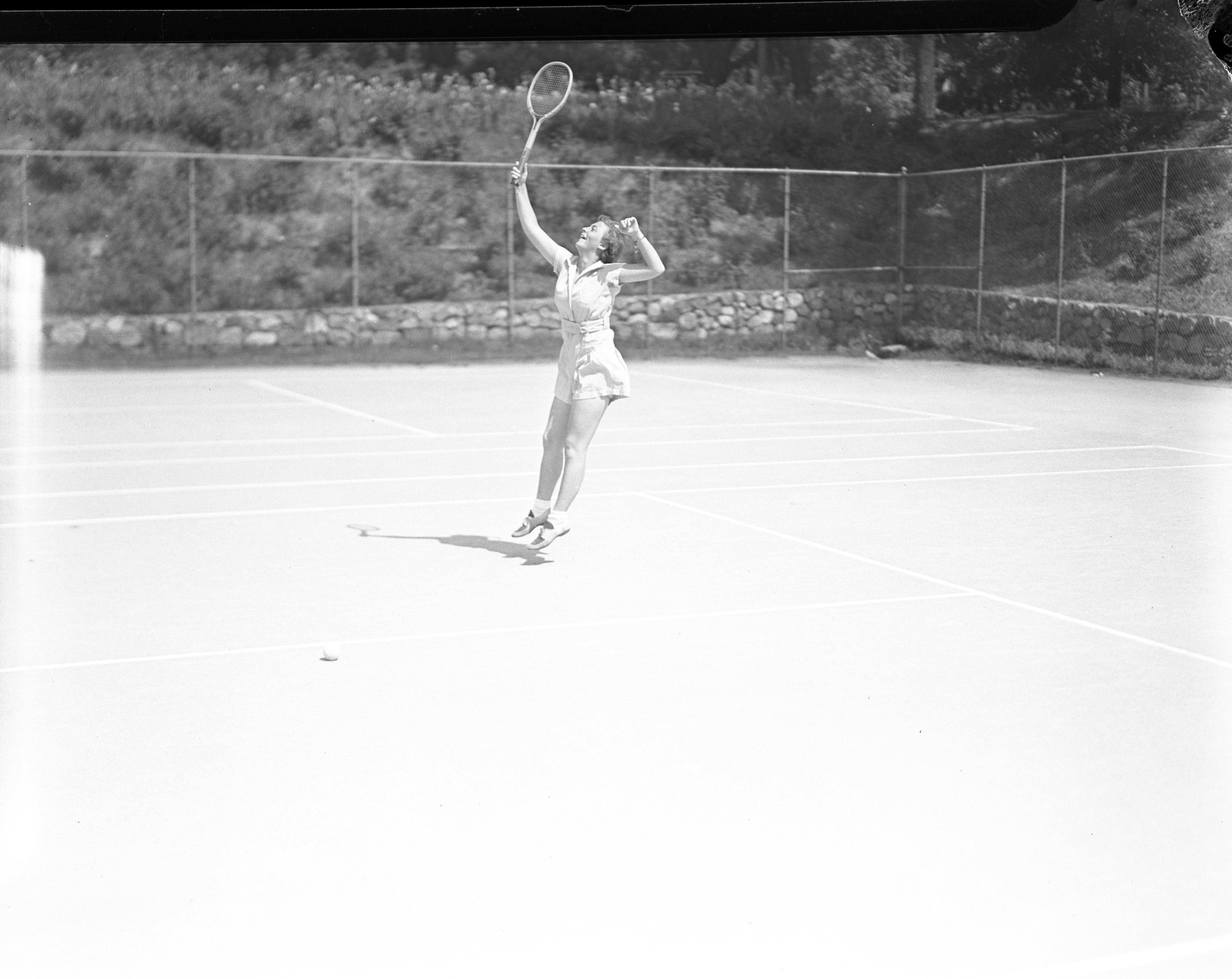 Tennis on Palmer Field, 1937 image