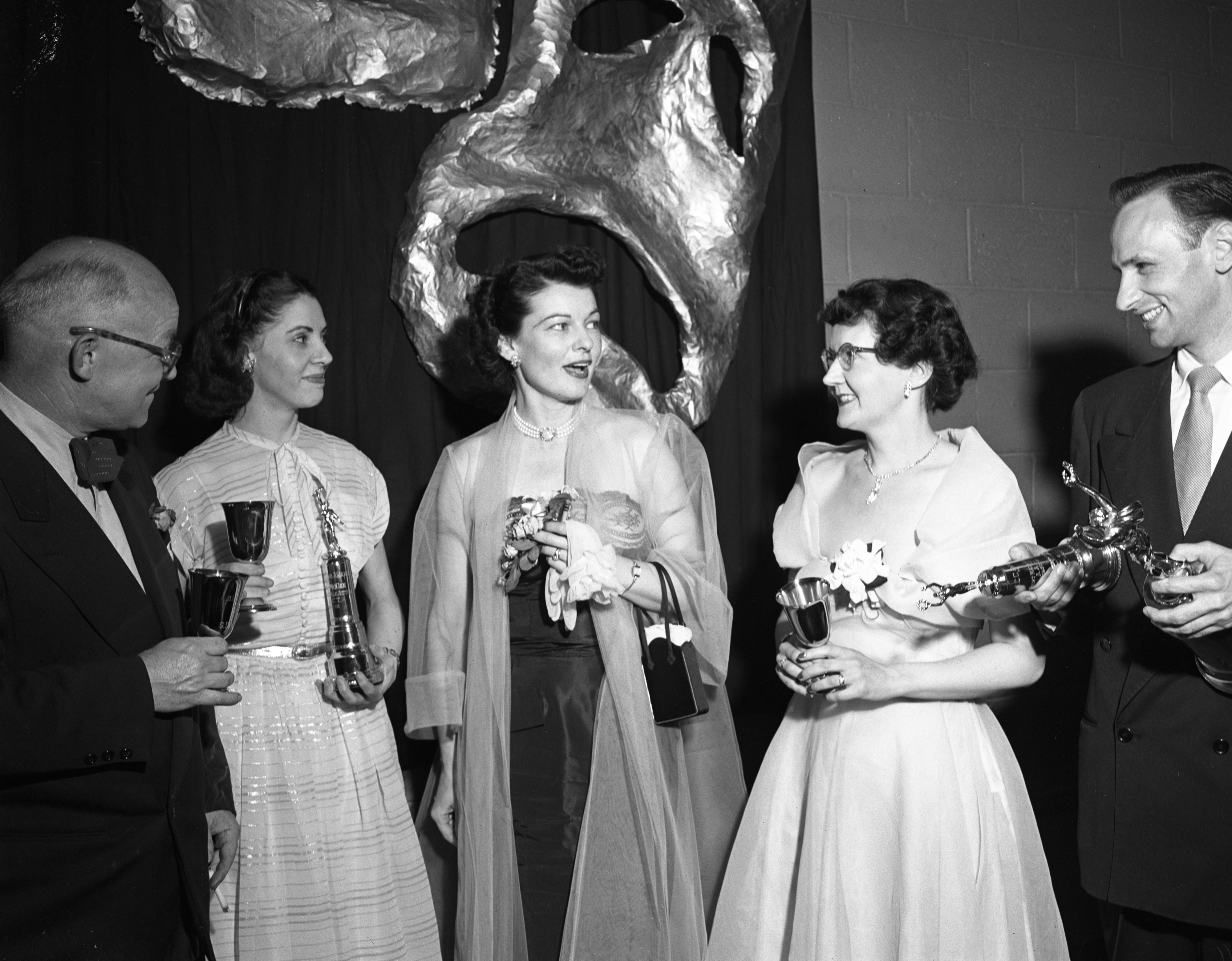 Ann Arbor Civic Theatre 1951 Awards Winners and Special Guest Ruth Hussey, June 1951 image