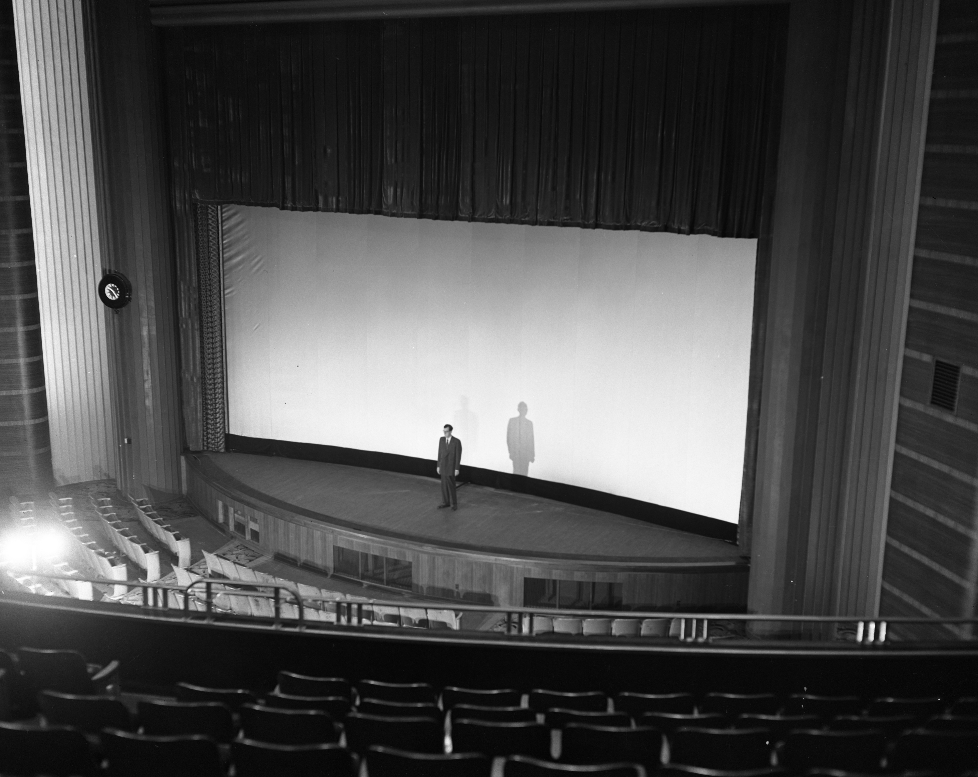 New Wide Screen at the State Theater, November 1953 image
