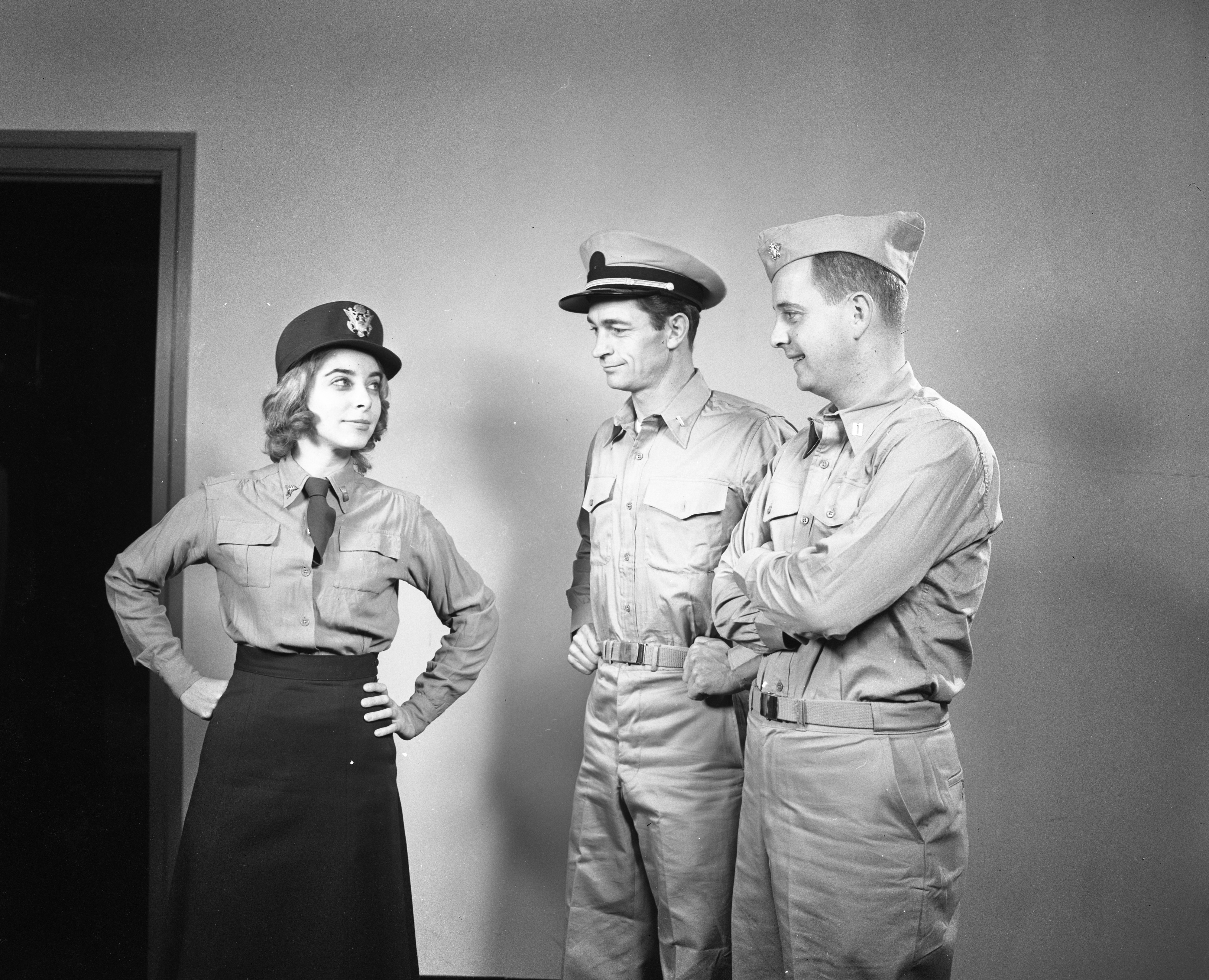 Ann Arbor Civic Theatre Players Rehearse 'Mr. Roberts,' October 1961 image