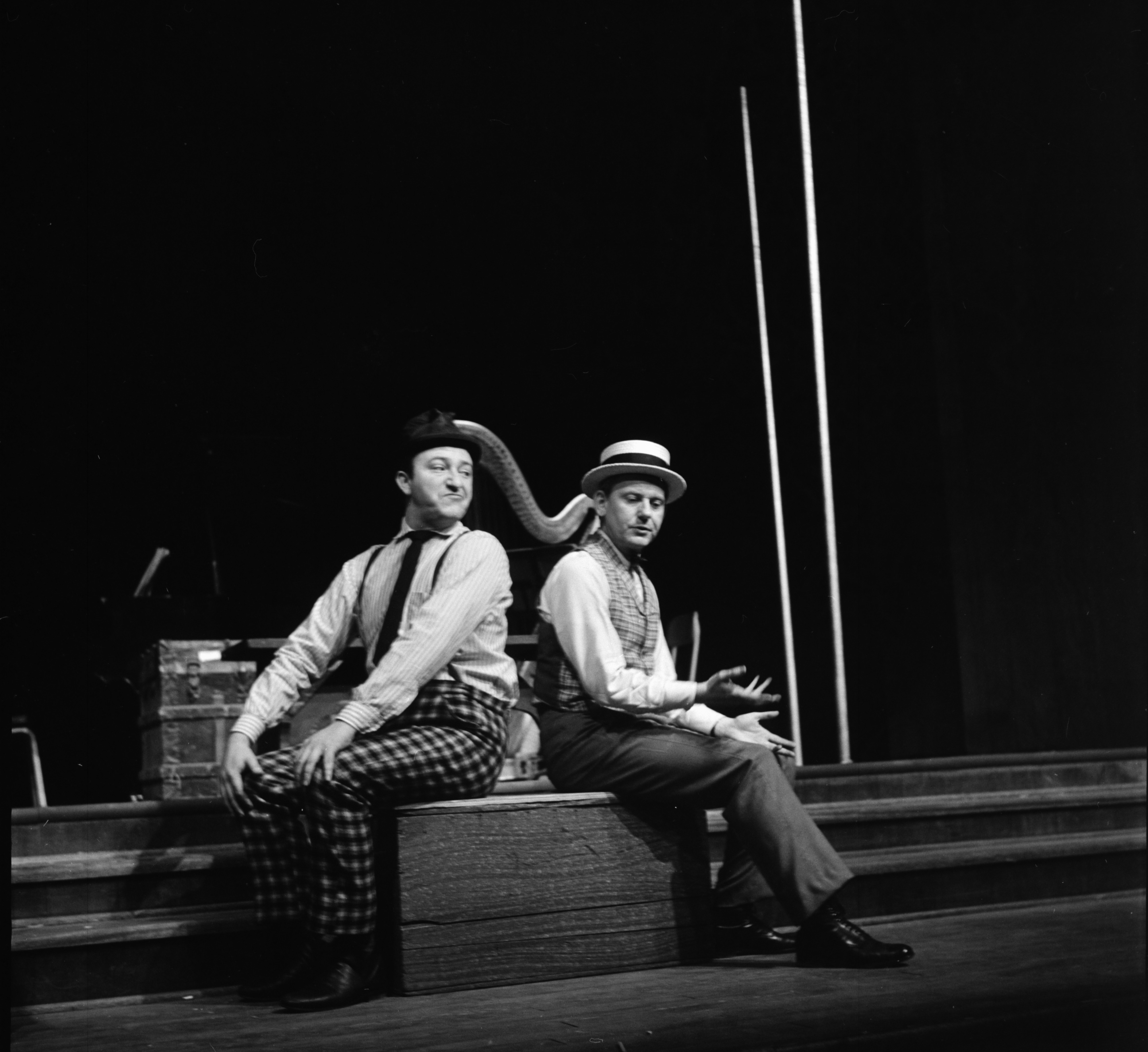 "U of M Professional Theater Program's production of ""The Fantasticks,"" January 1963 image"