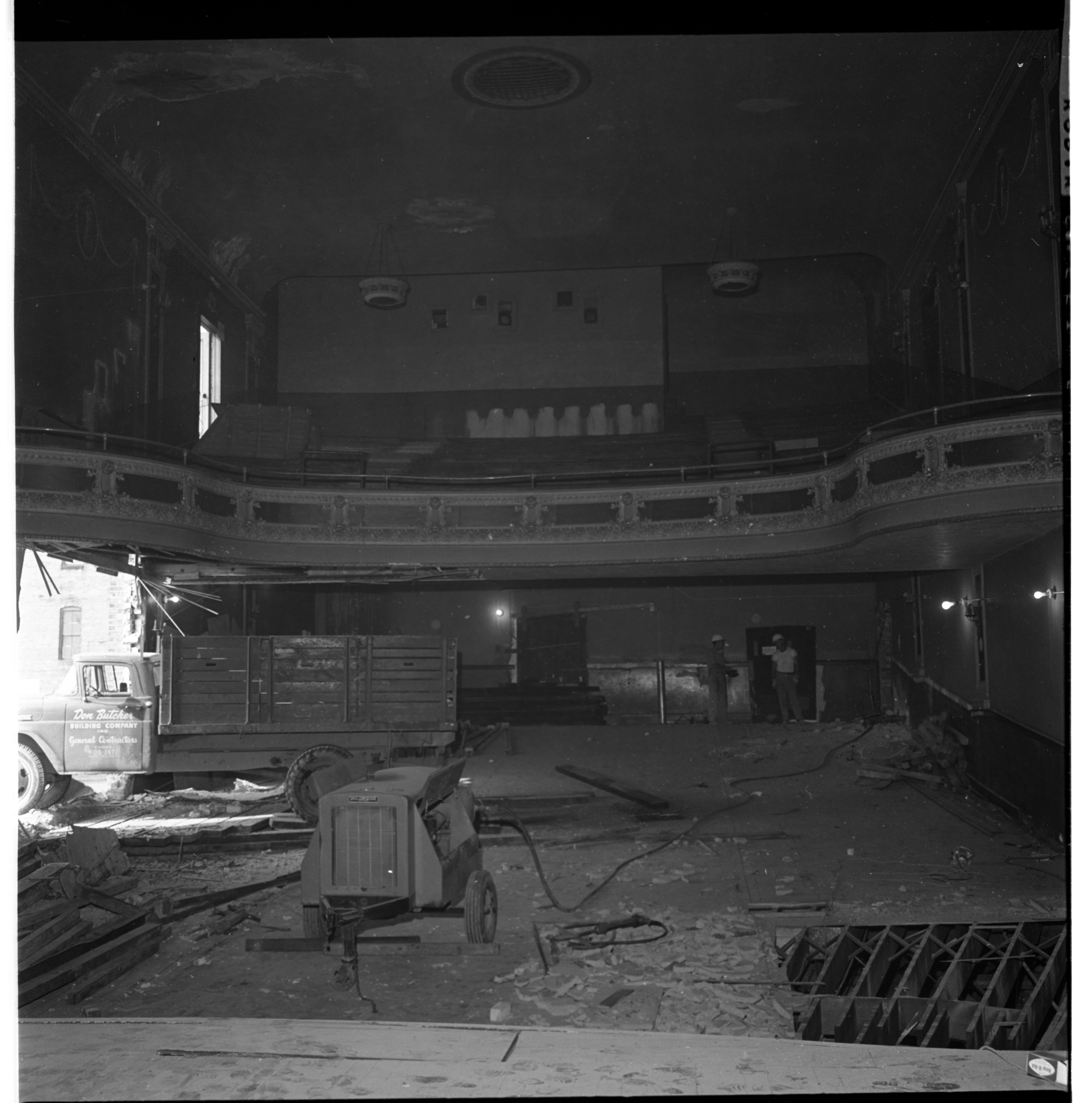 Demolition of the Wuerth Theater, September 1965 image