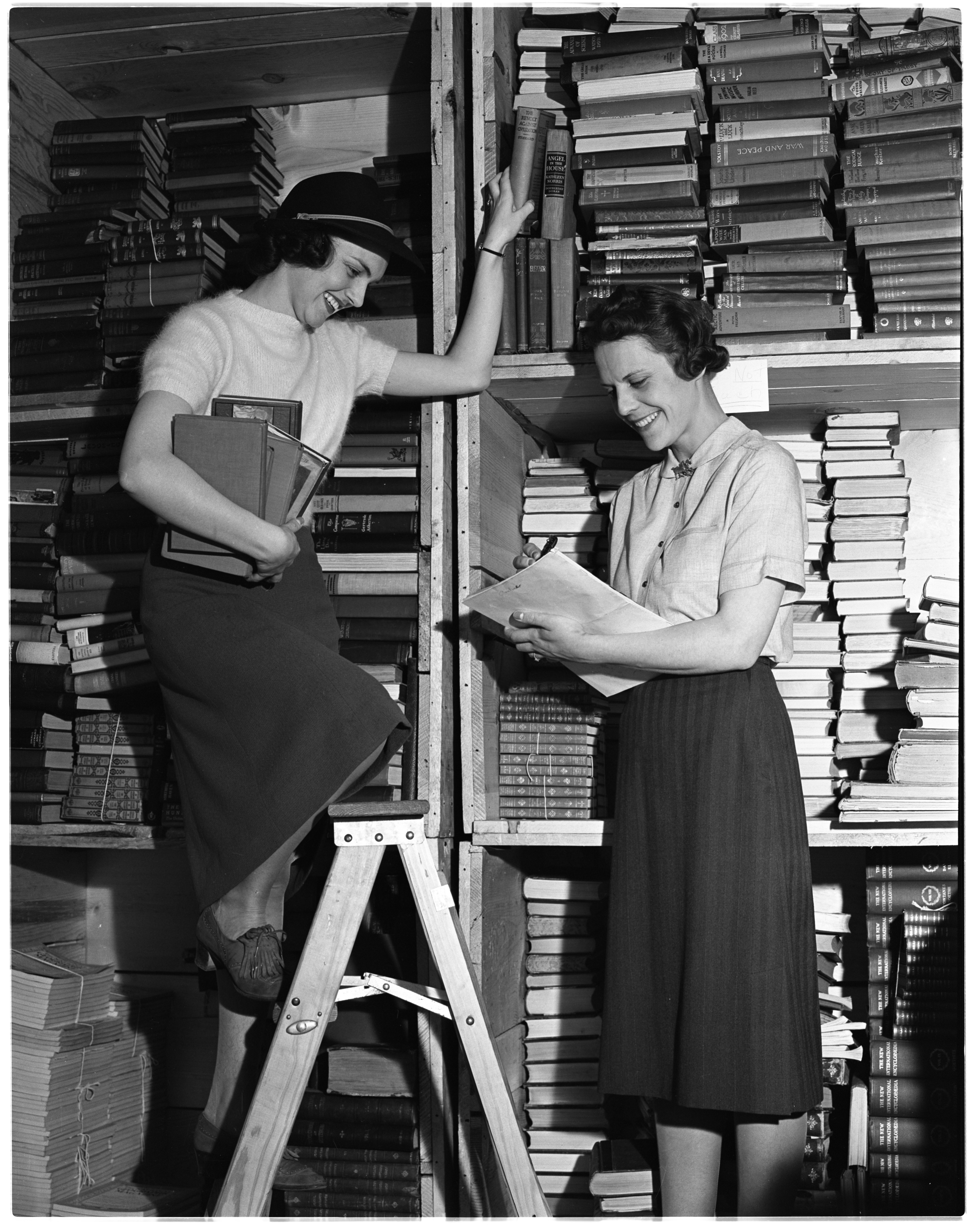 University of Michigan Alumnae Book Sale, May 1938 image
