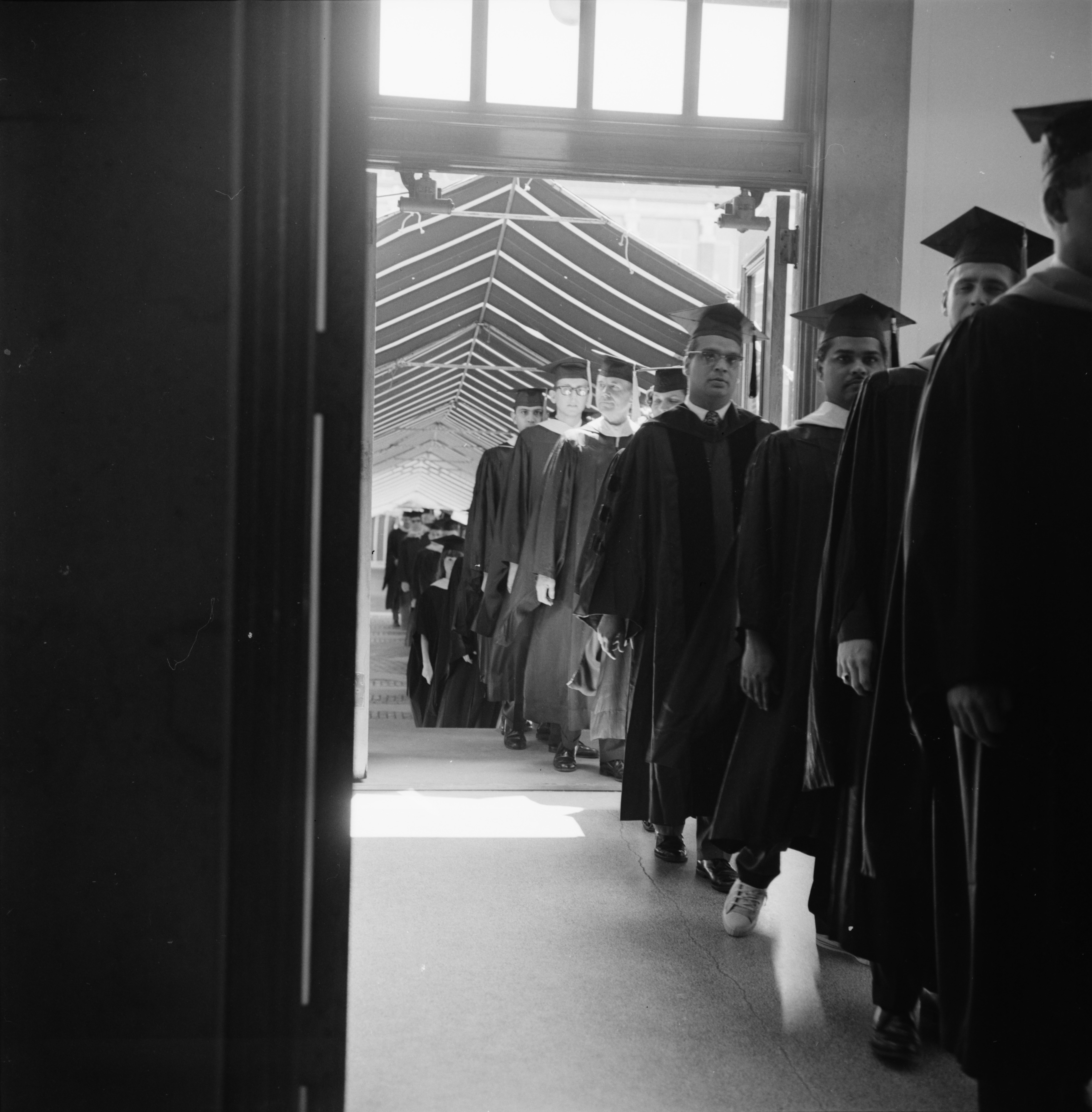 University of Michigan's Summer Commencement, August 1967 image