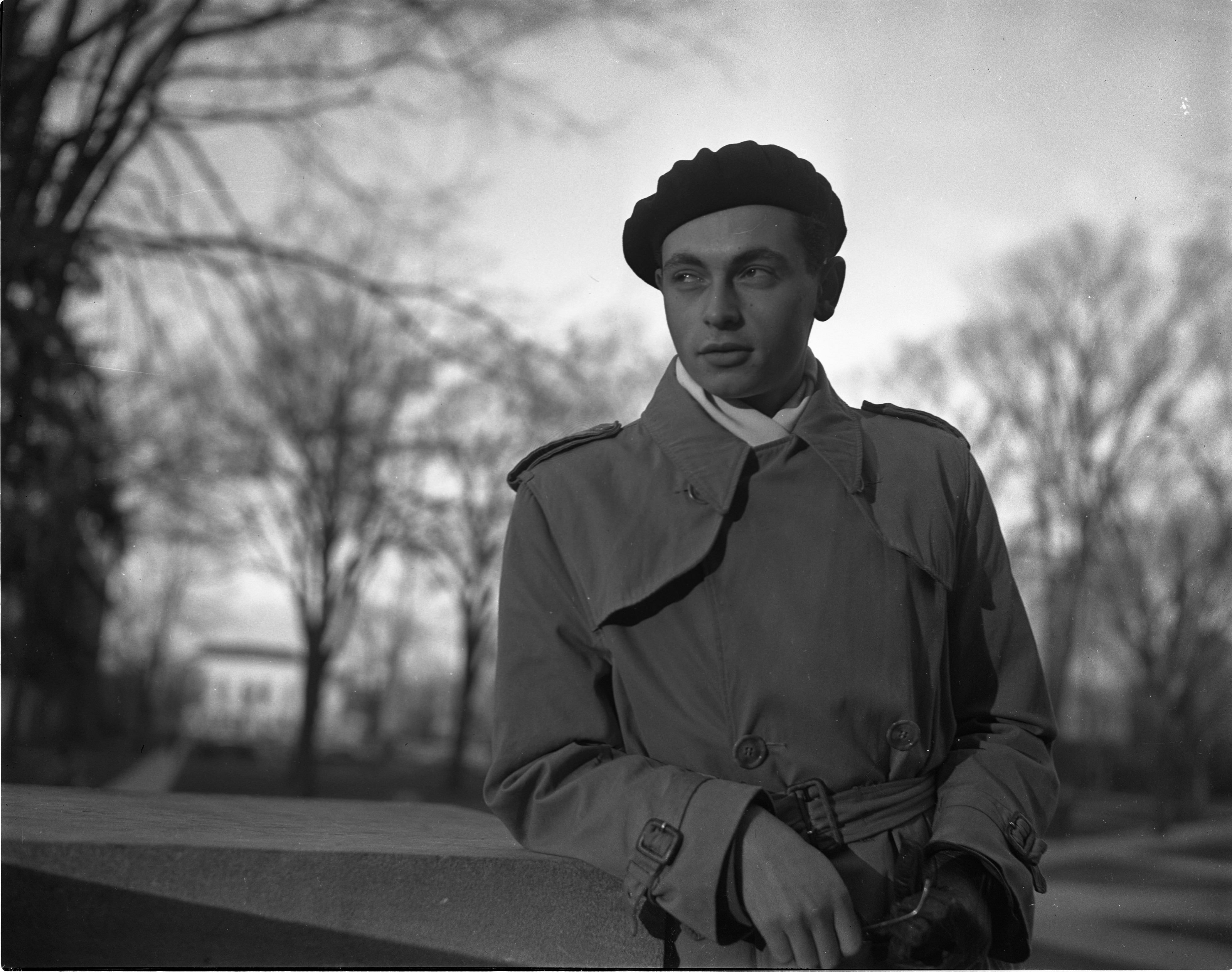 UM International Student And Refugee On Campus, December 1941 image