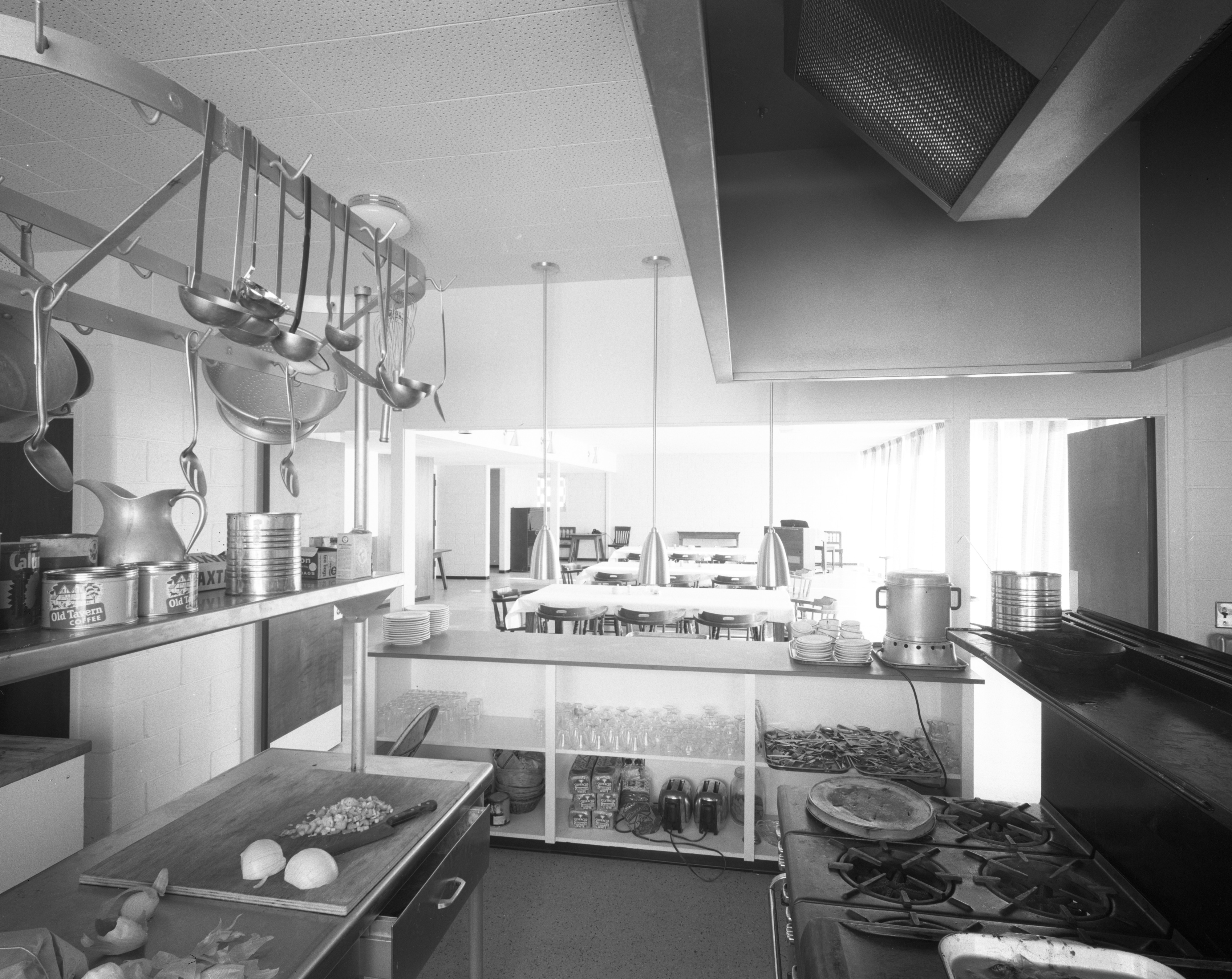 Communal Kitchen at Phi Chi Medical Fraternity Housing on North ...