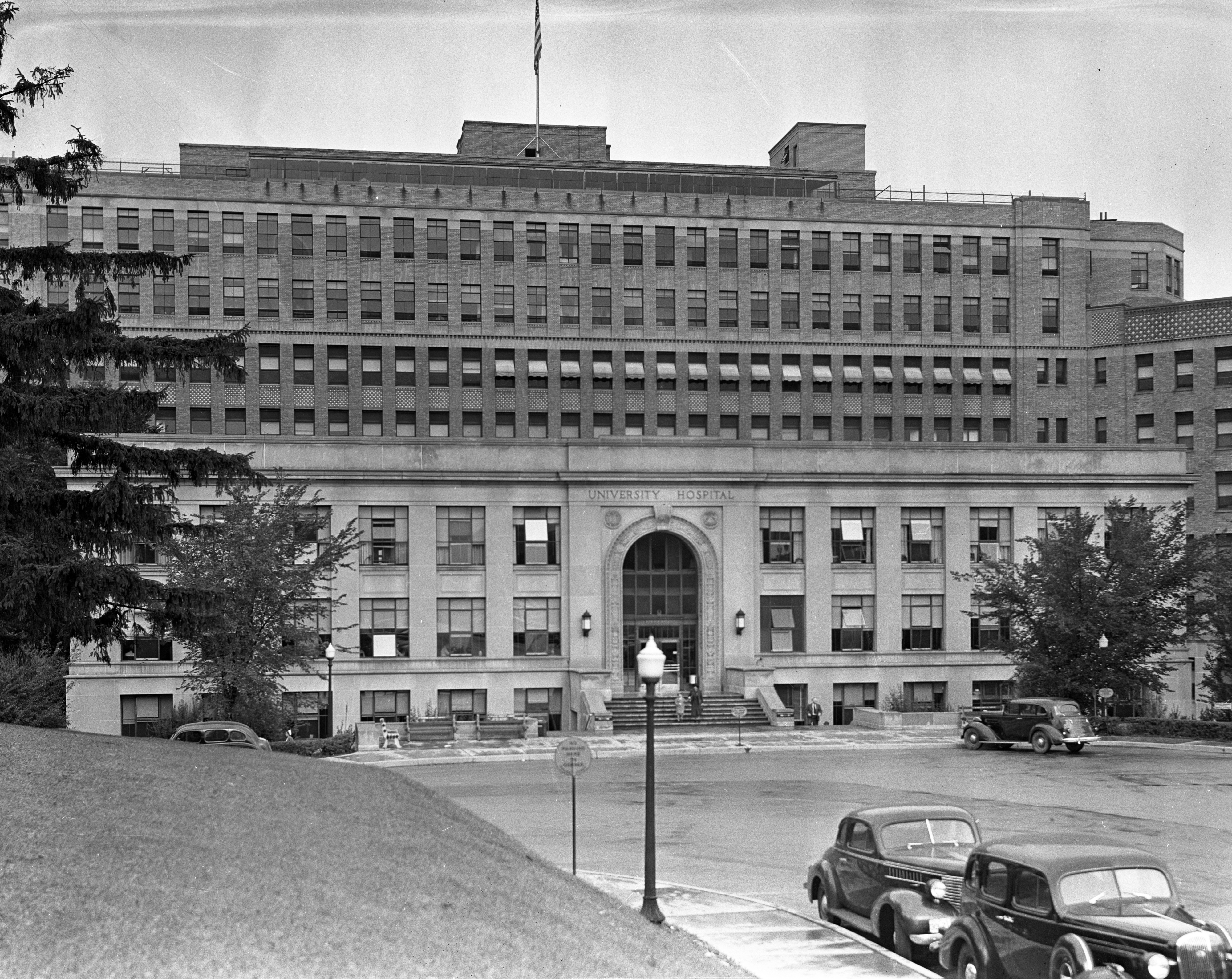 University of Michigan Hospital, 1938 image