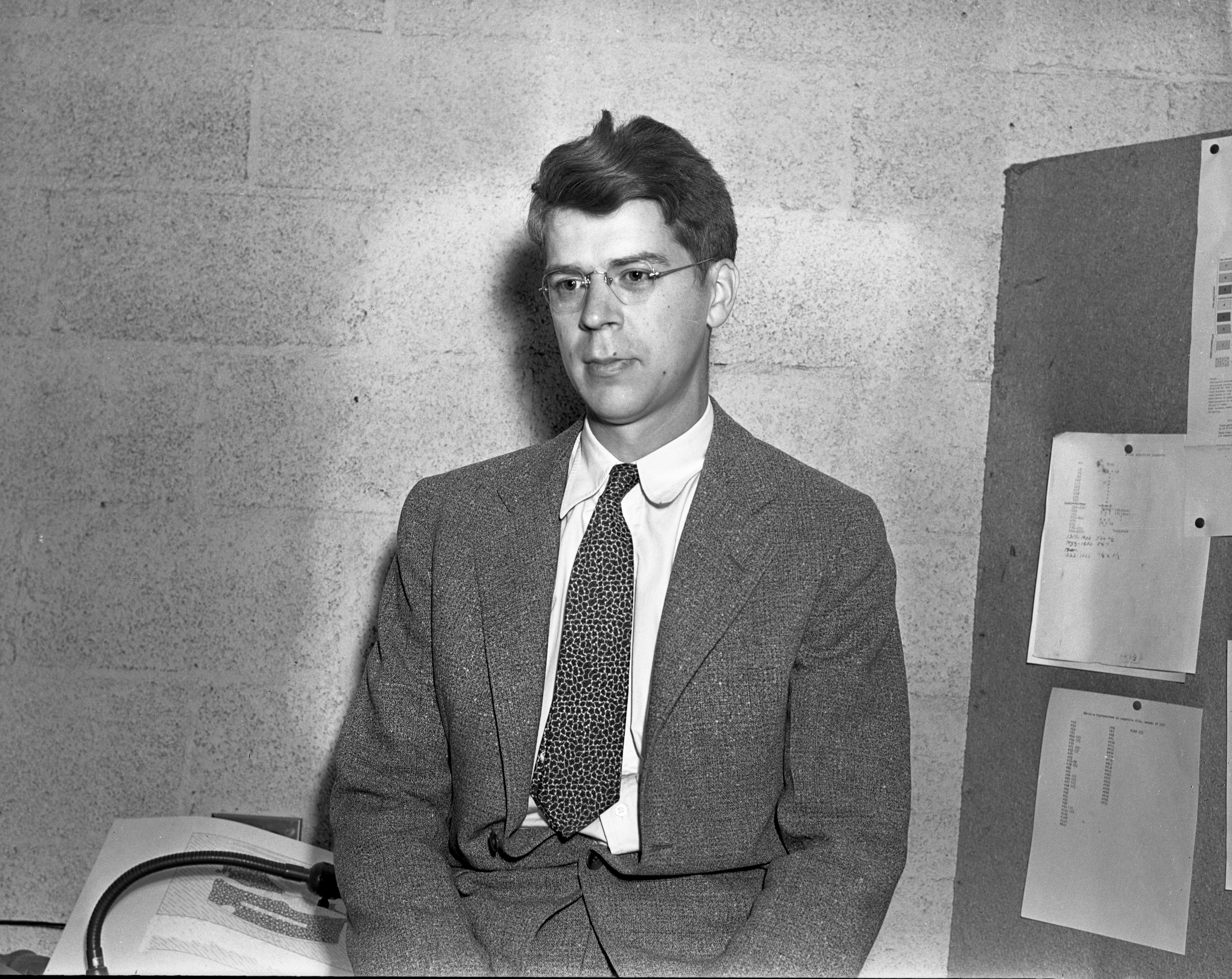 University of Michigan Museum faculty: Mr. Kinetz, June 1938 image