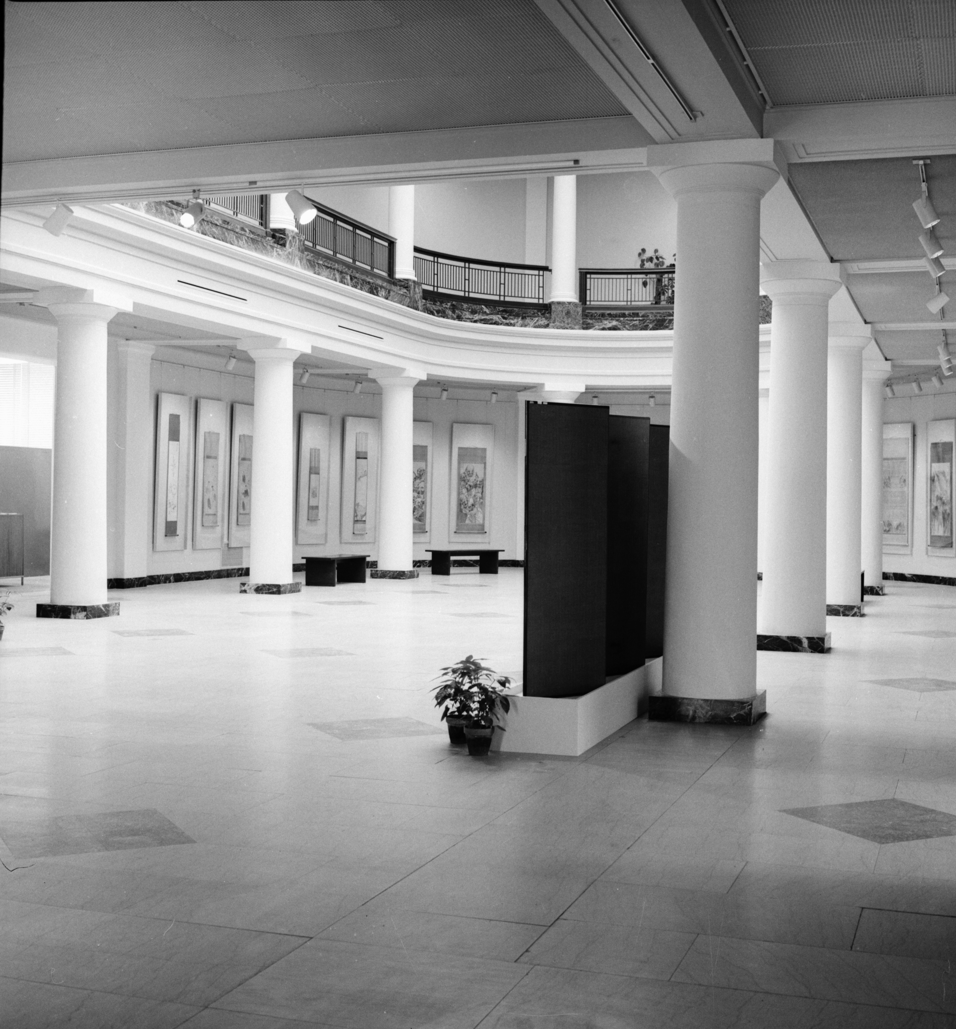 University of Michigan Art Museum Interior Restored, February 1974 image