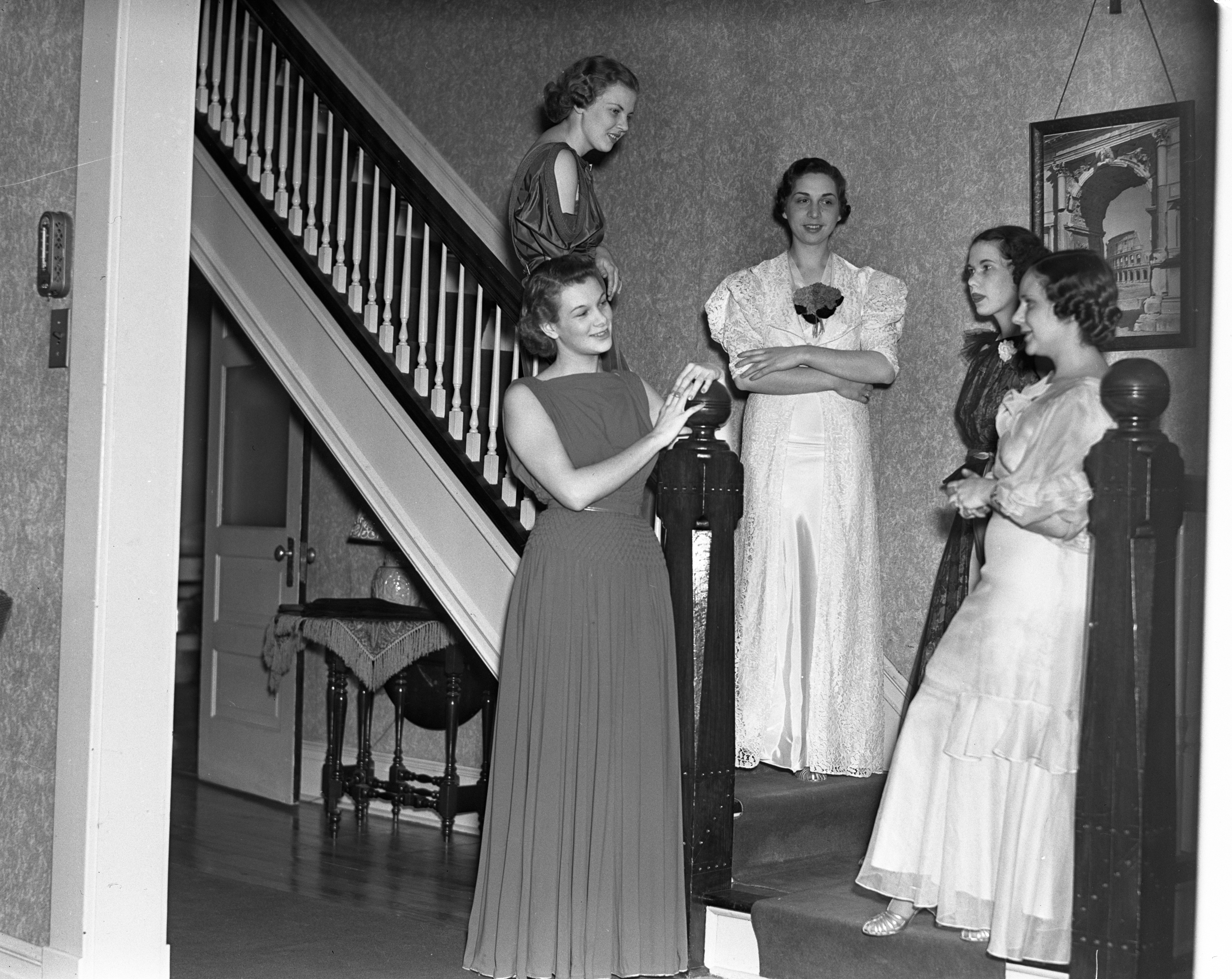 At Zeta Tau Alpha, April 24, 1937 image