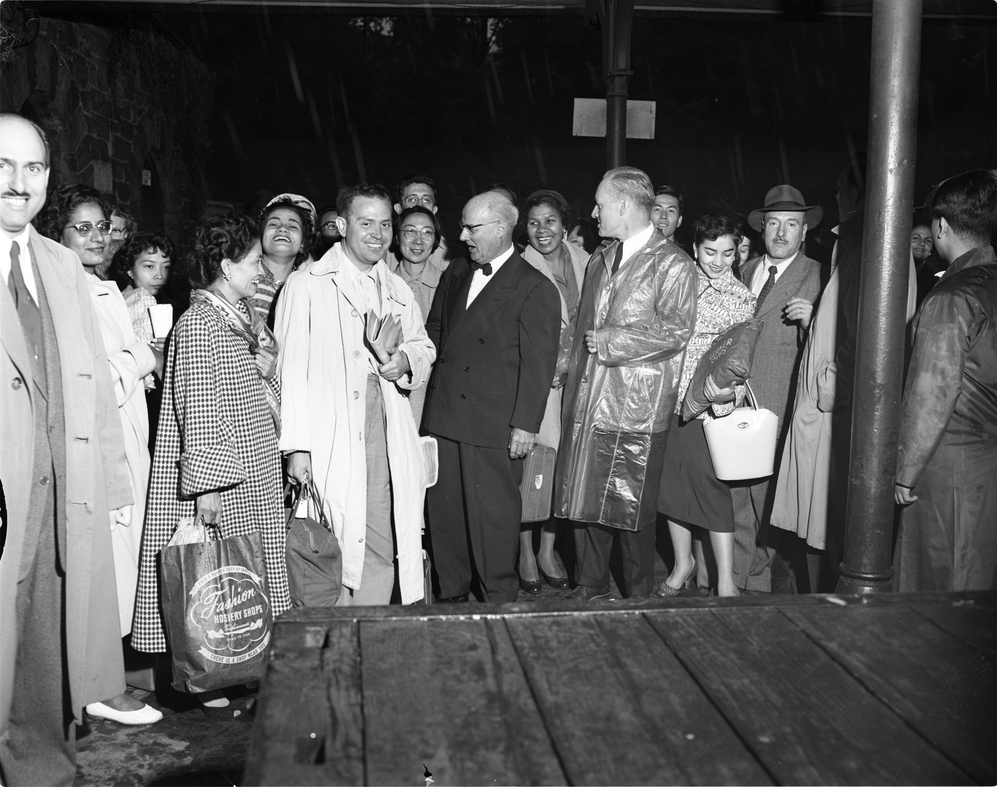 Teachers Of English Arrive From Different Countries At UM's English Language Institute To Study, September 23, 1955 image