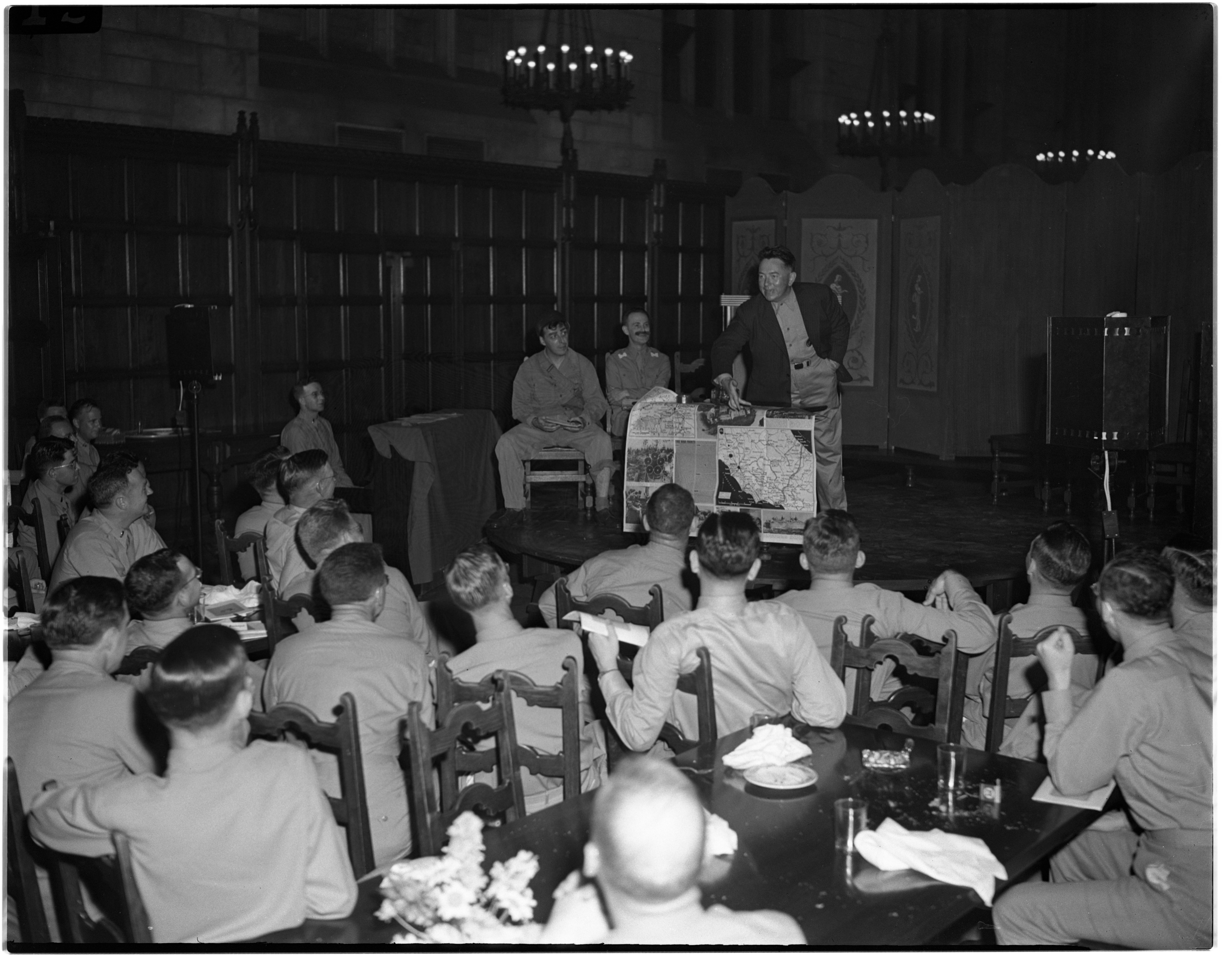 JAG Graduation And Banquet with Undersecretary of War Patterson, July 1944 image