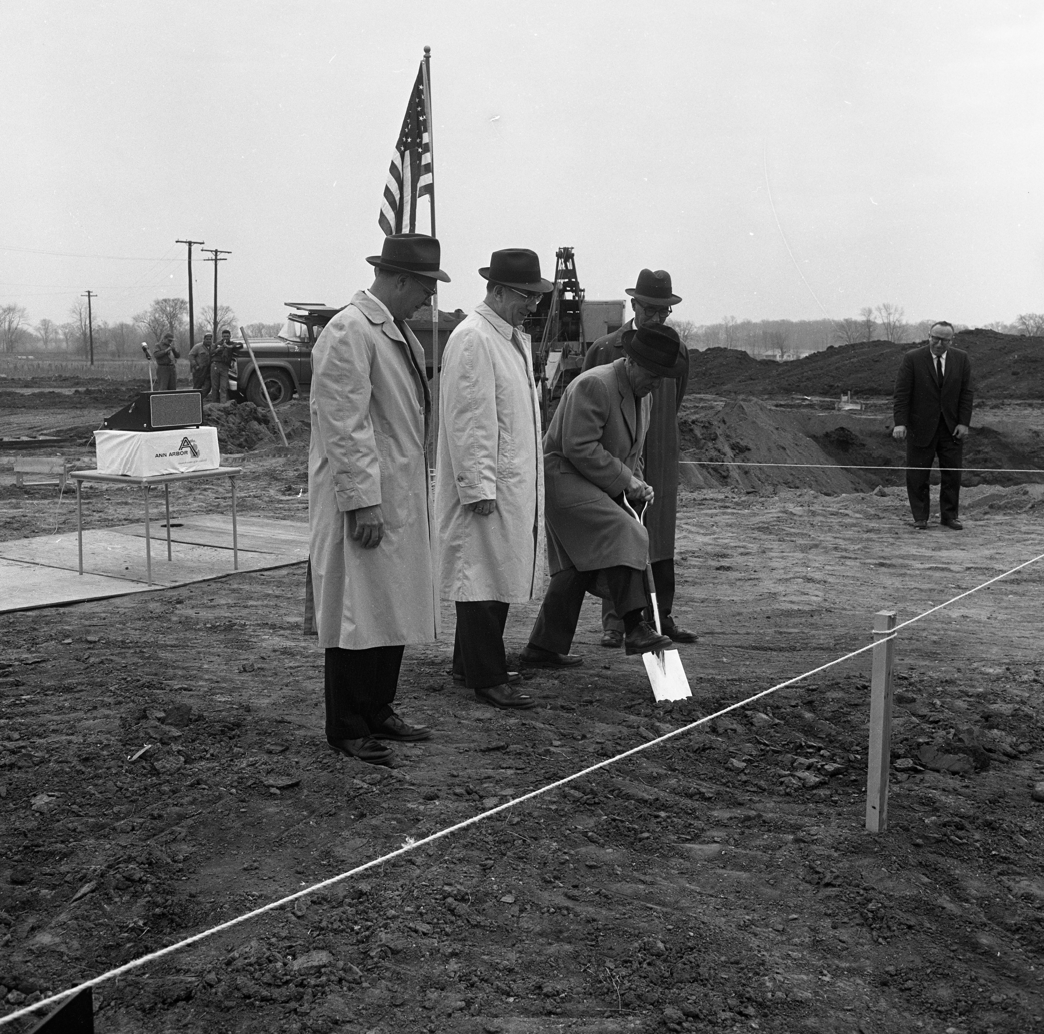 Federal-Mogul Groundbreaking Ceremony at Ann Arbor Research Park, April 1962 image