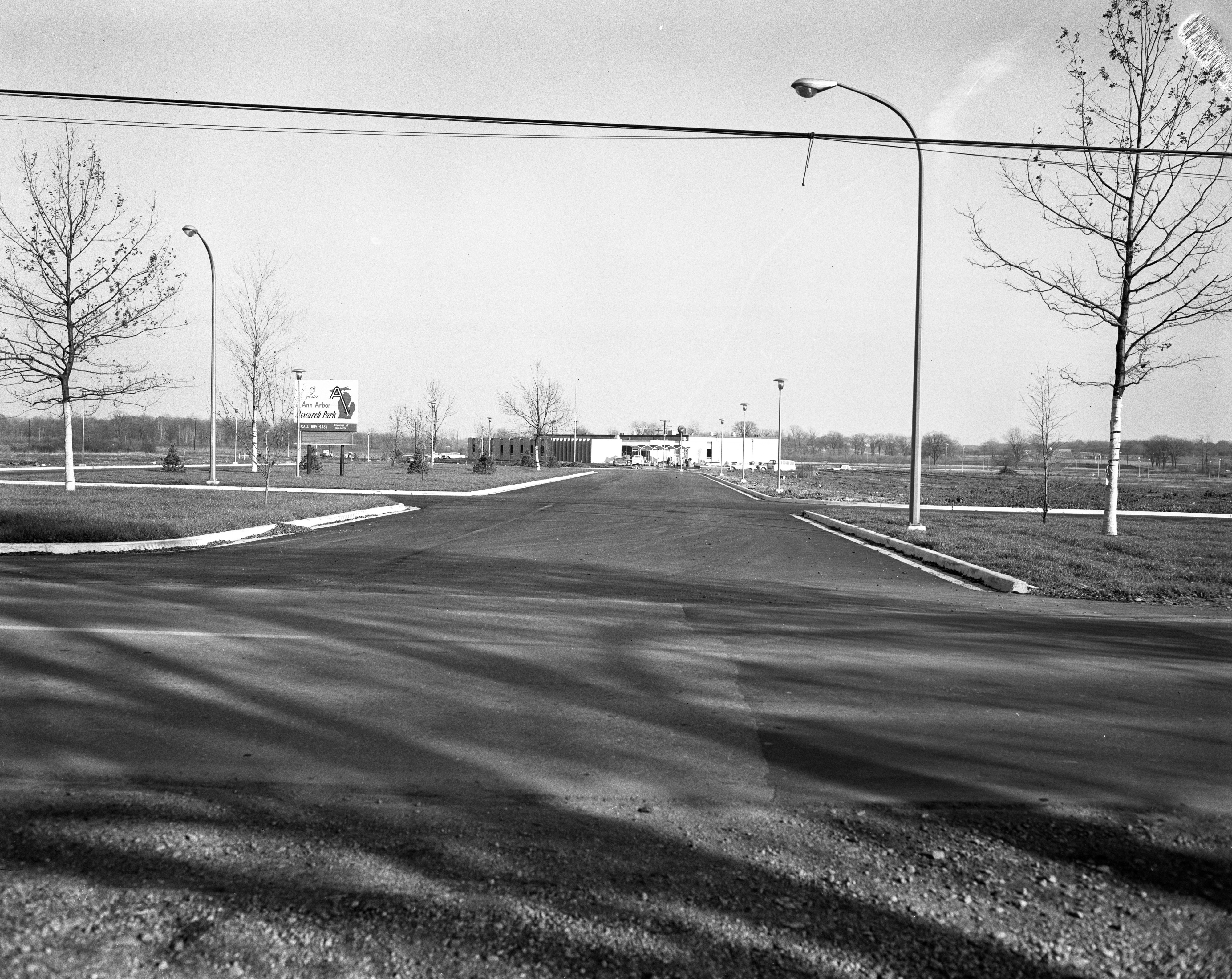 General Ground View of Ann Arbor Research Park, November 1962 image