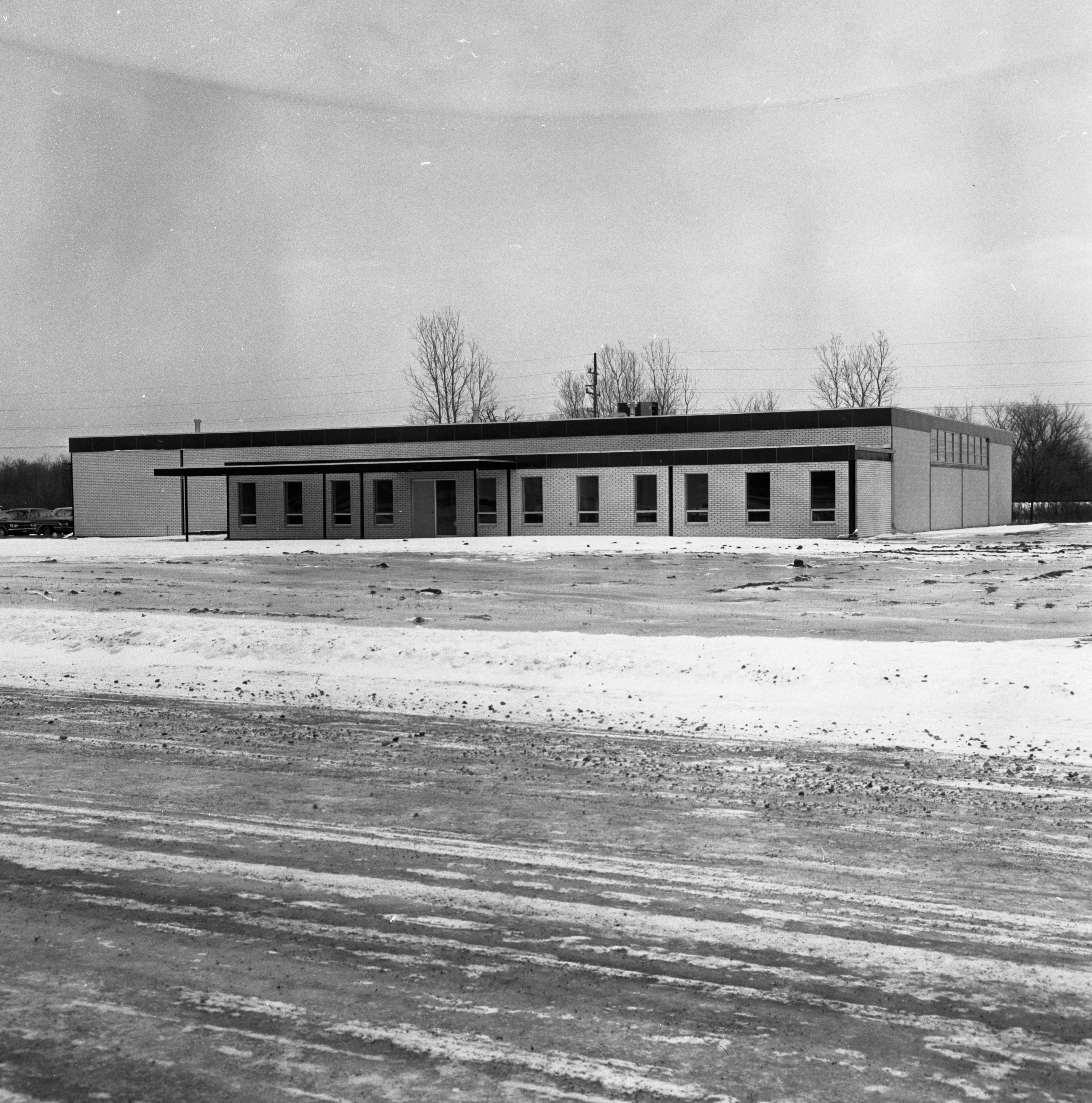 Berry Electronics Building In Ann Arbor Research Park, February 1965 image