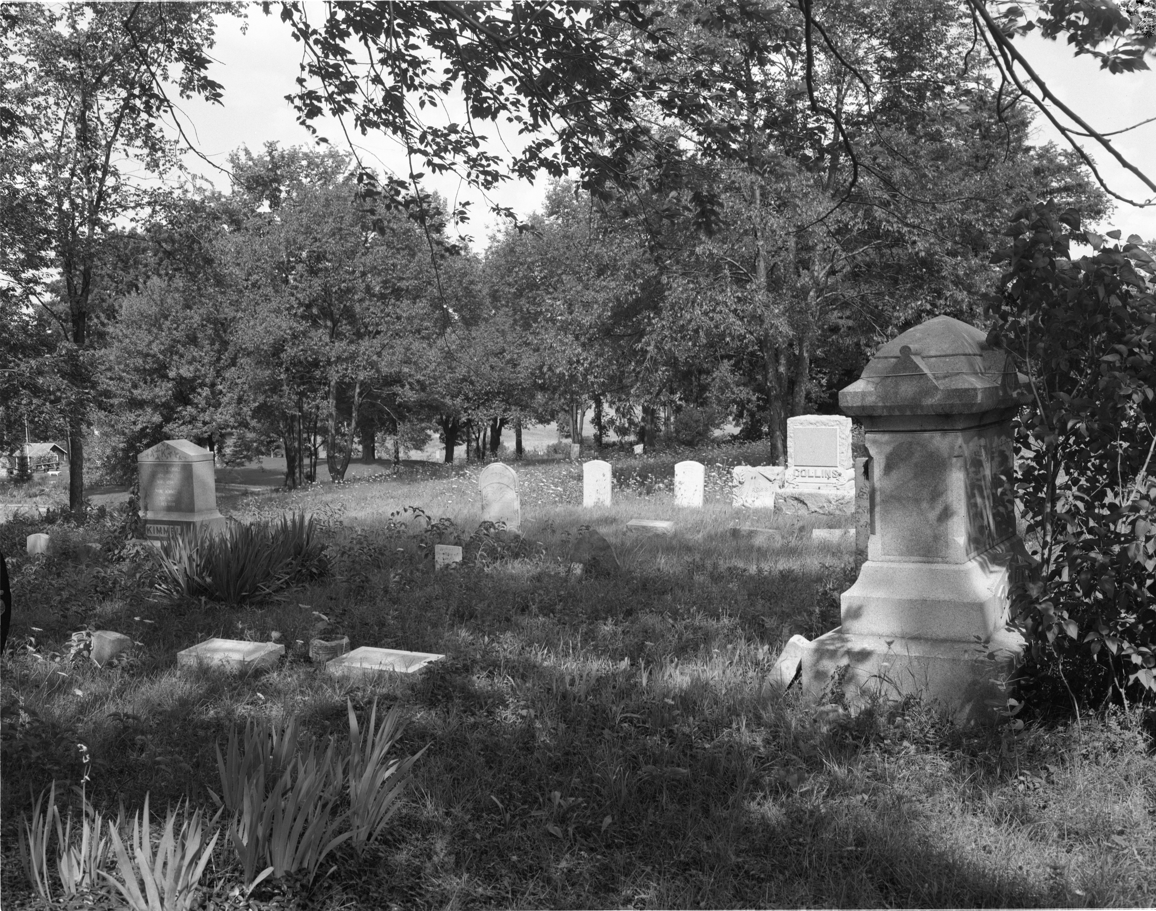The Free Church Cemetery - Superior Township, August 1956 image