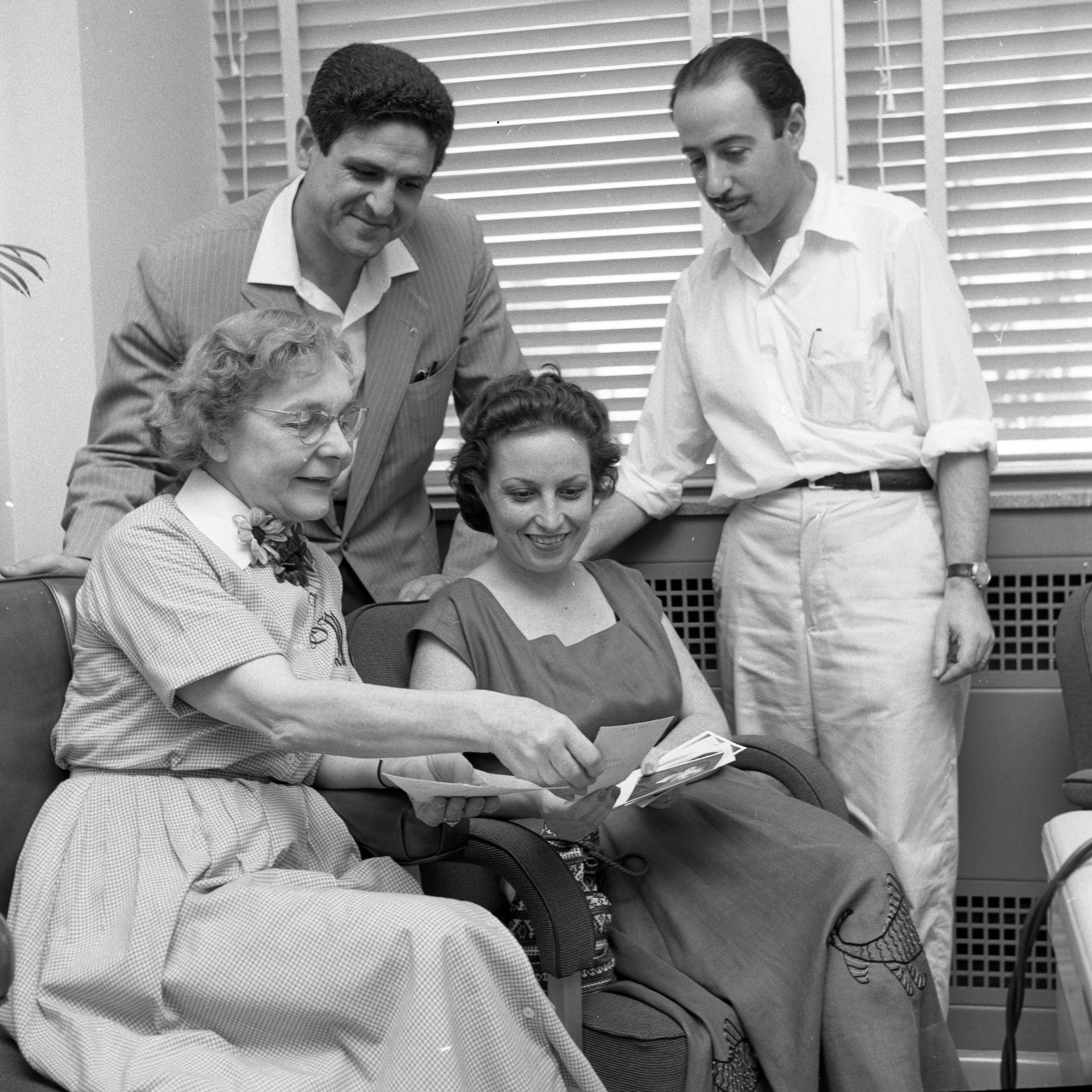 Washtenaw County Clerk Obtains Visa Extensions For Family Following Heart Surgery at University Hospital, August 1958 image