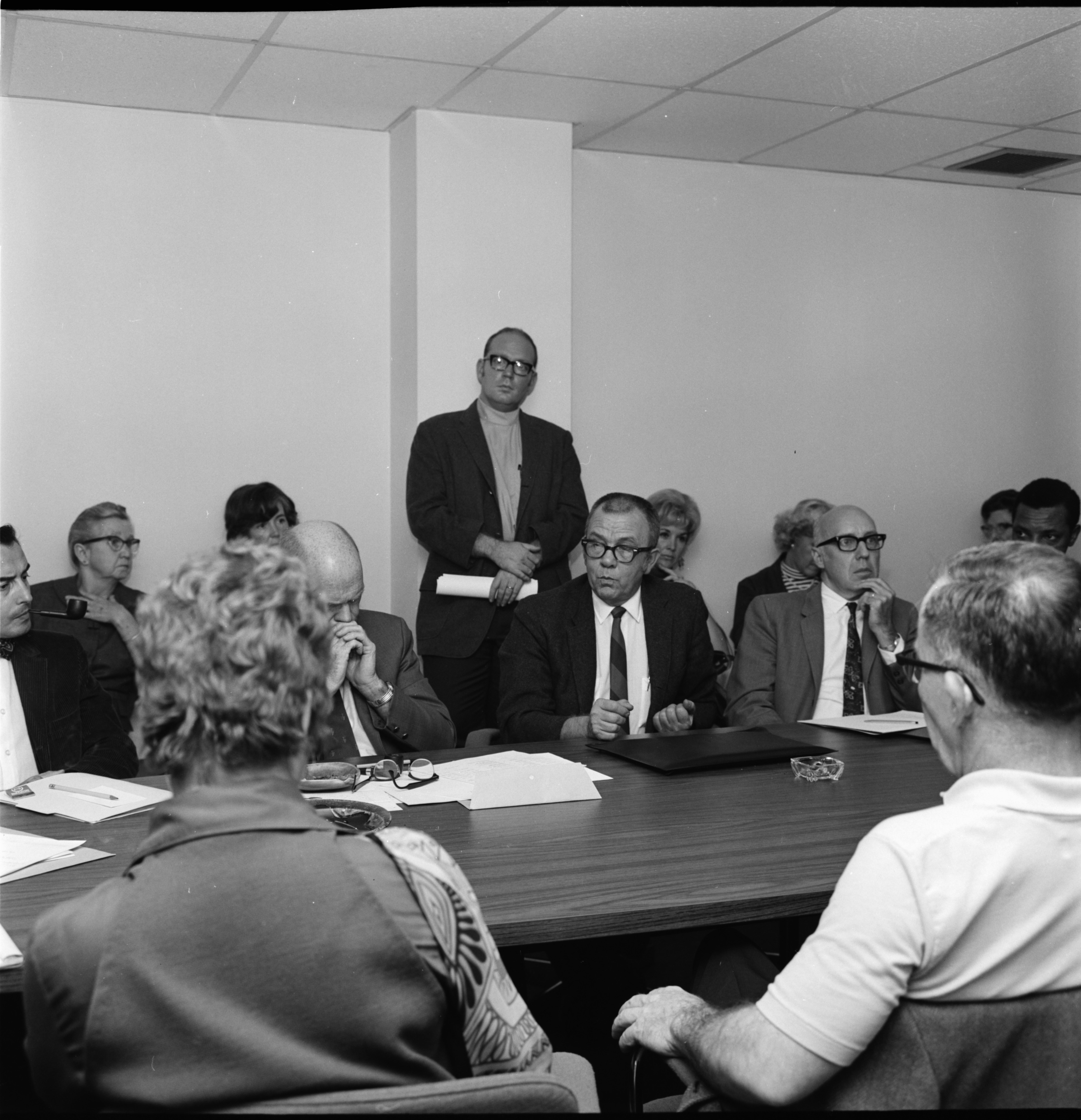 Meeting of the Washtenaw Community Mental Health Board, September 1969 image