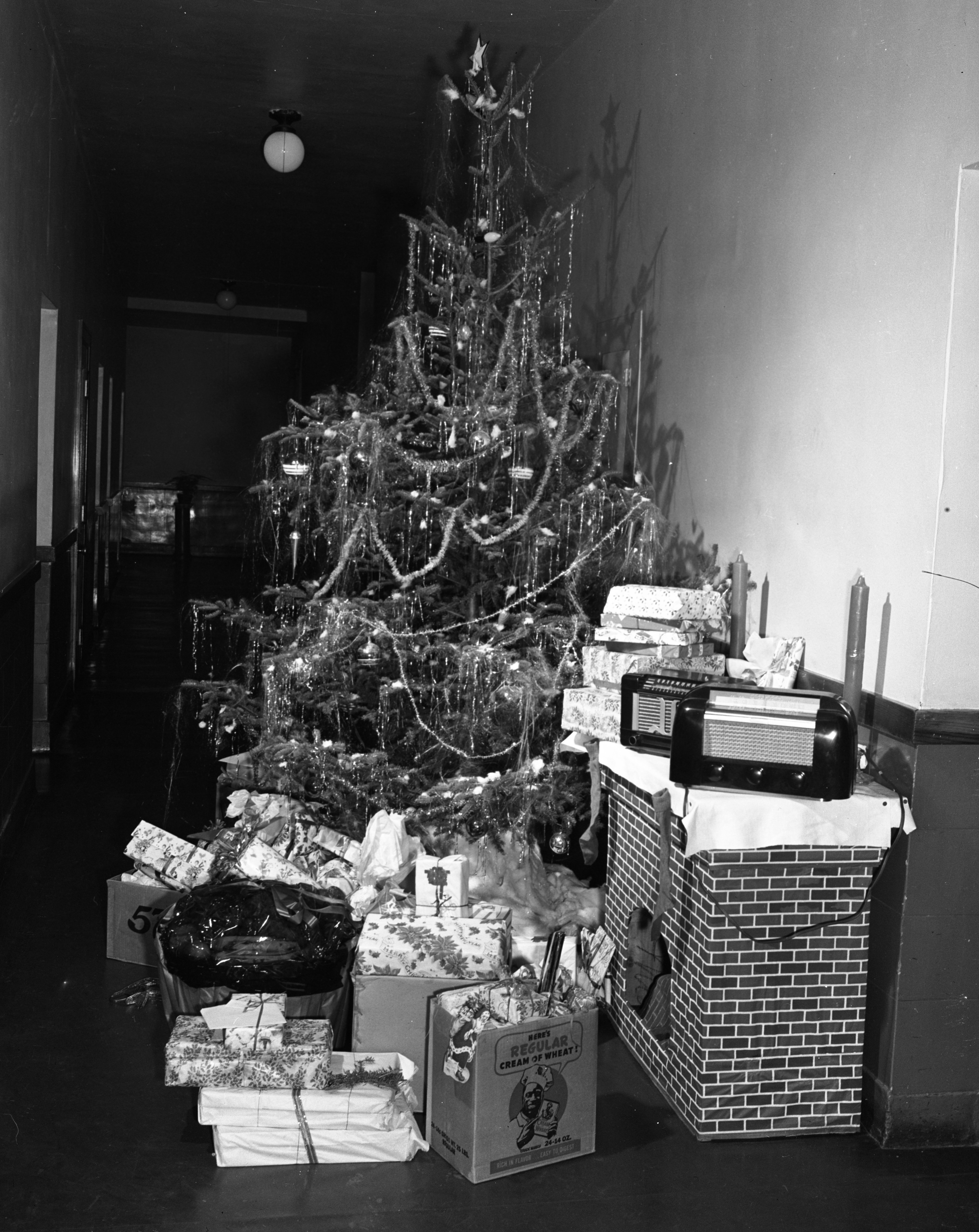 Christmas Eve at the Washtenaw County Infirmary, December 1947 image