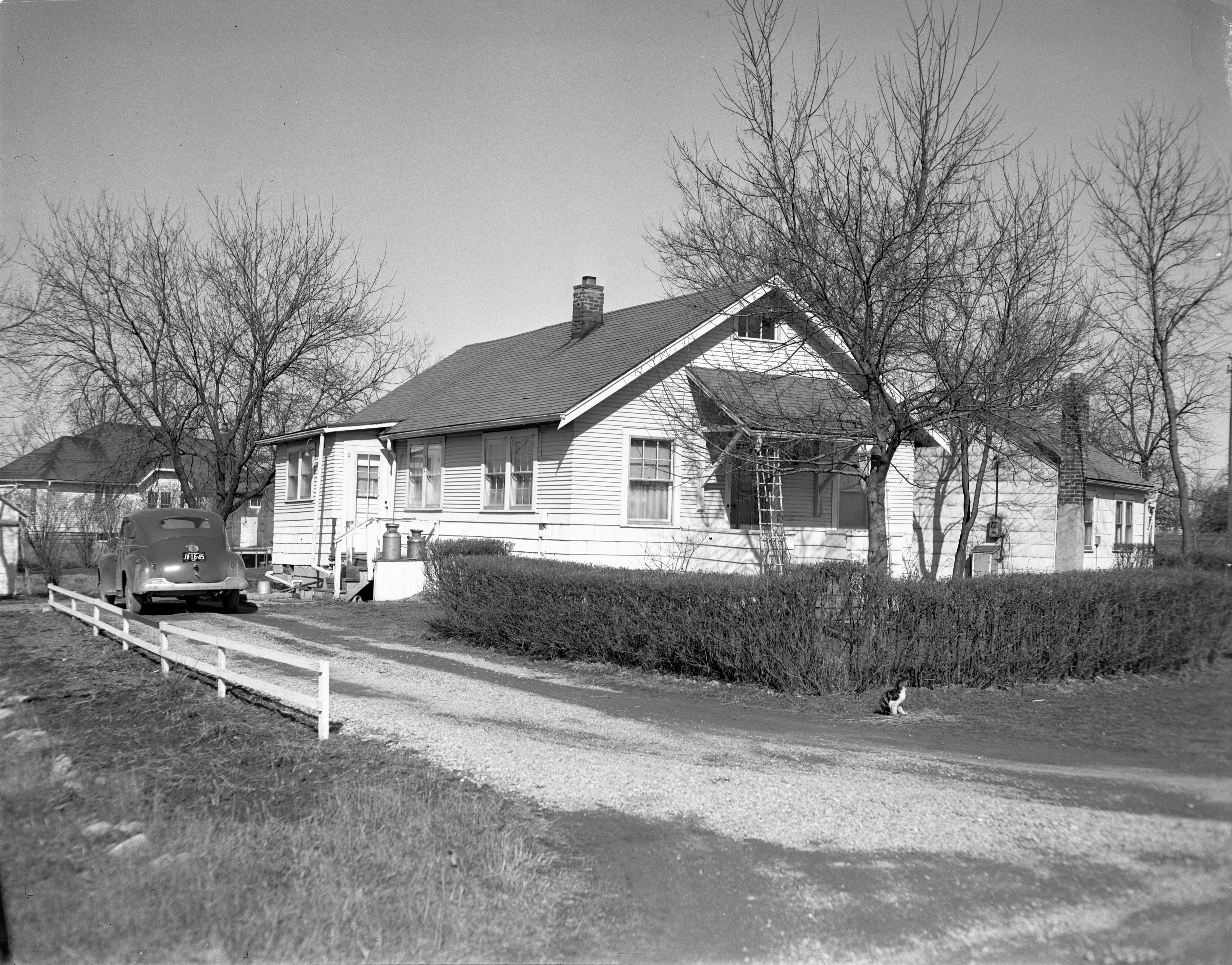 McConnell Home - 1675 Lexington Road, April 1949 image