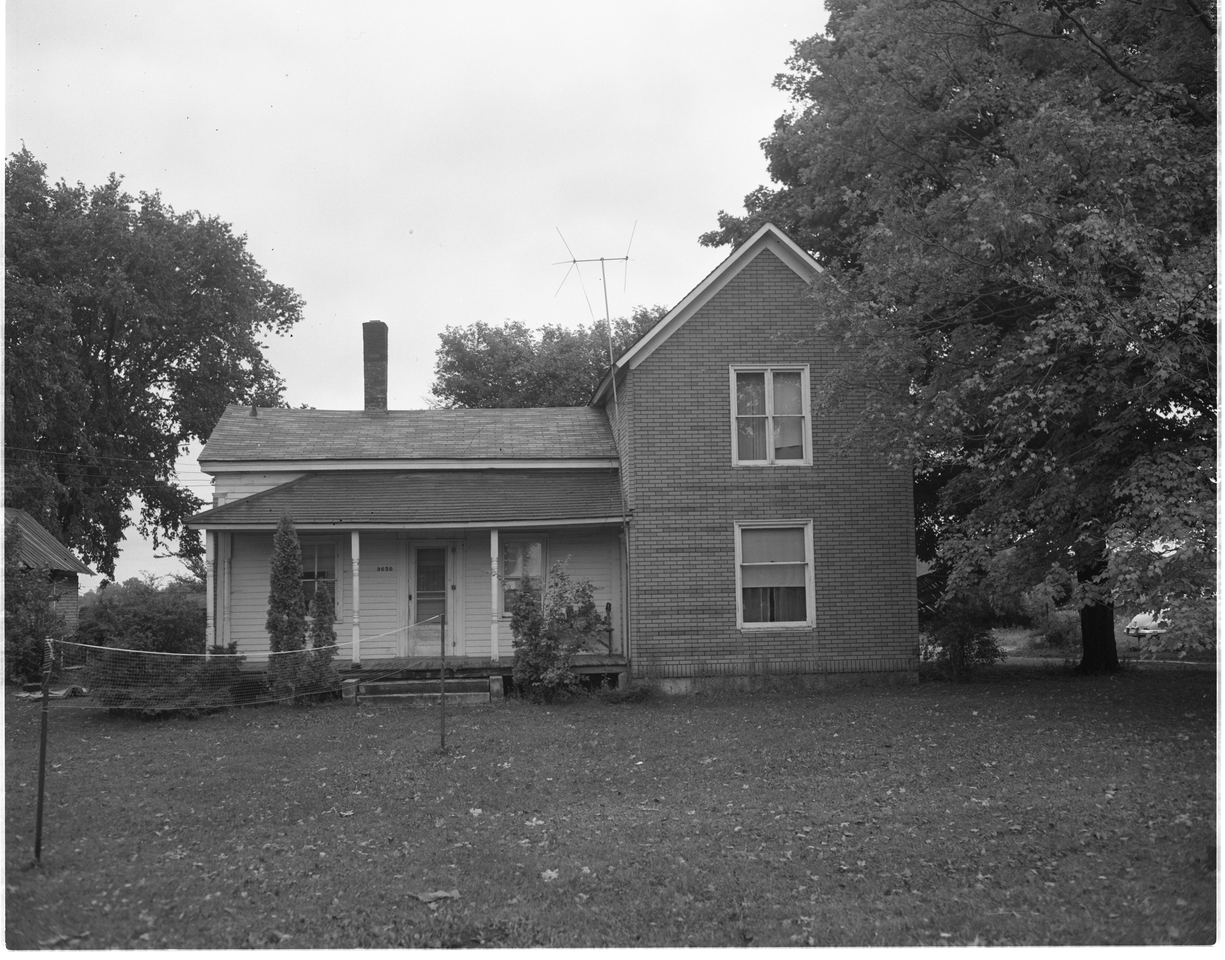 9650 Geddes Road - Scene Of Murder, September 1958 image