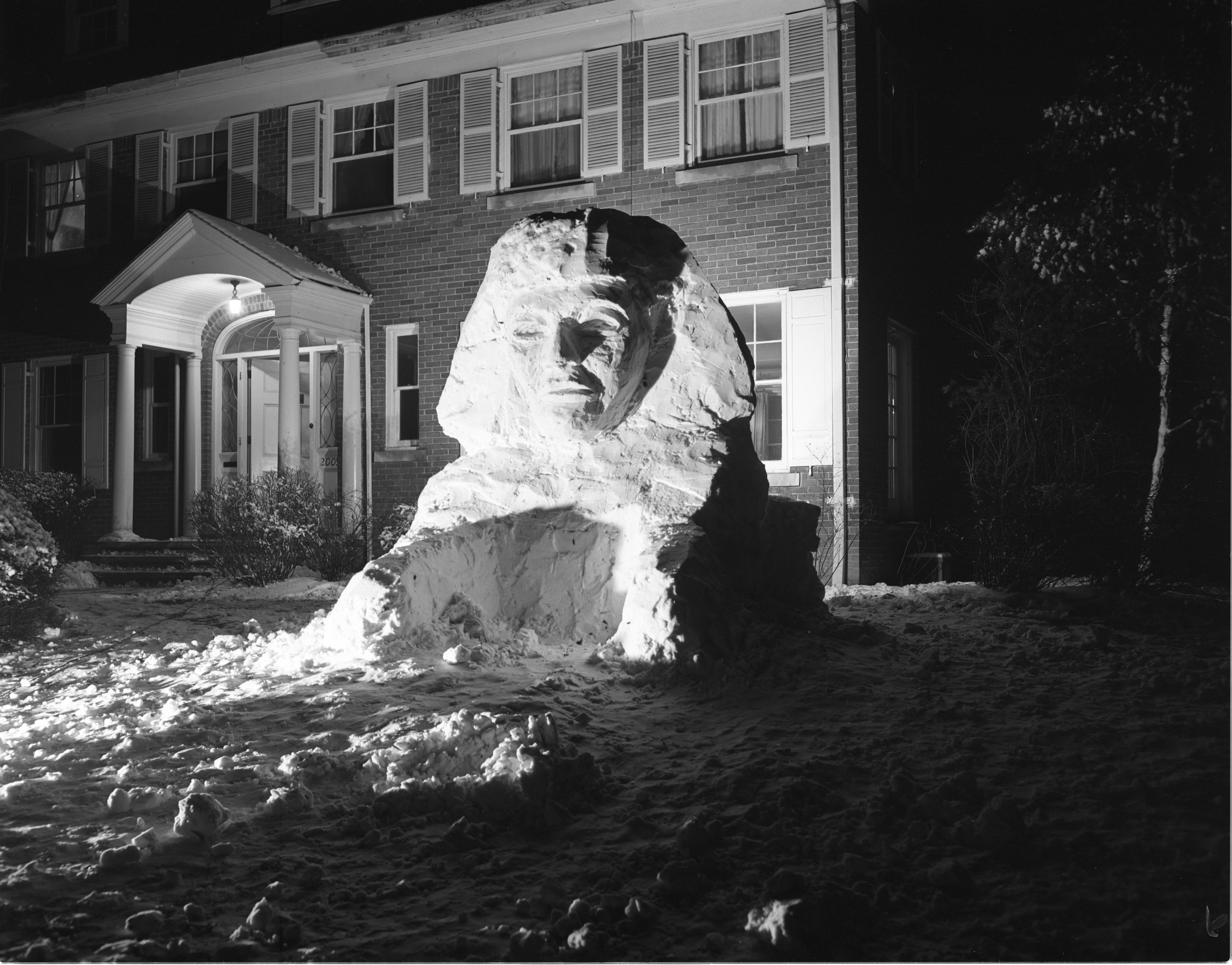 Snow Sphinx, January 1951 image