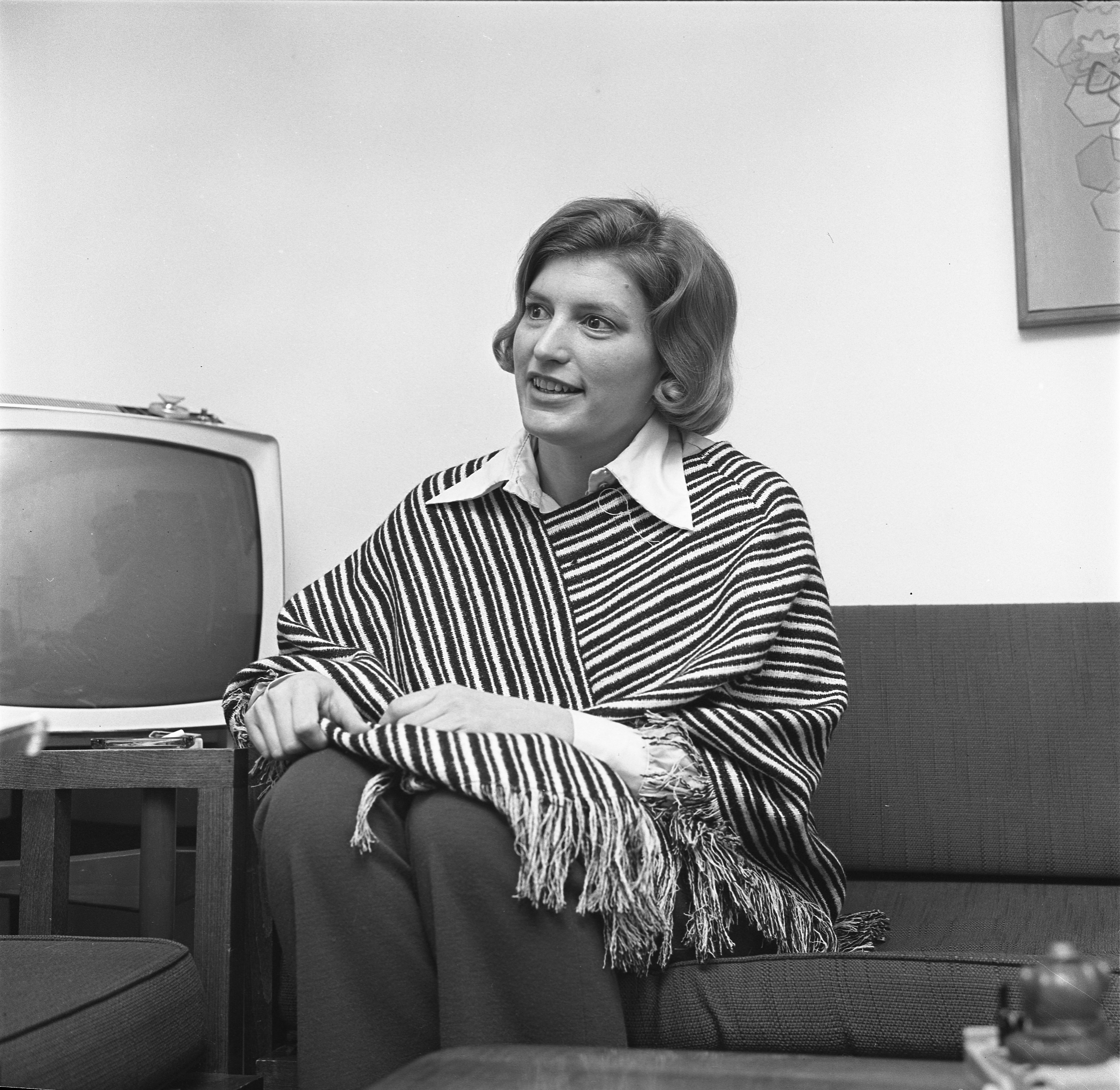 Mary Dabbs Speaks To Reporter About Women's Rights, March 1970 image