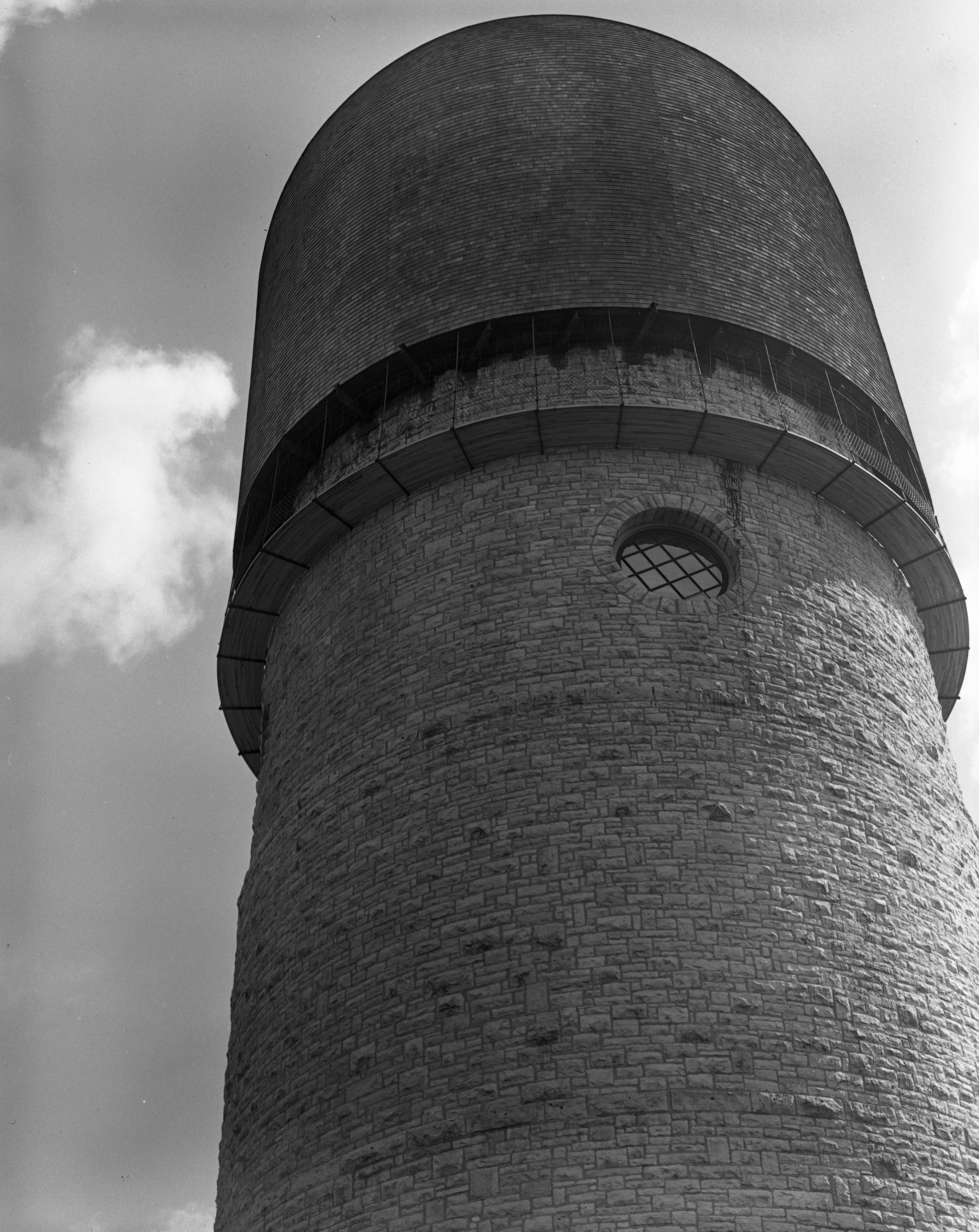 Ypsilanti Water Tower, April 1939 image