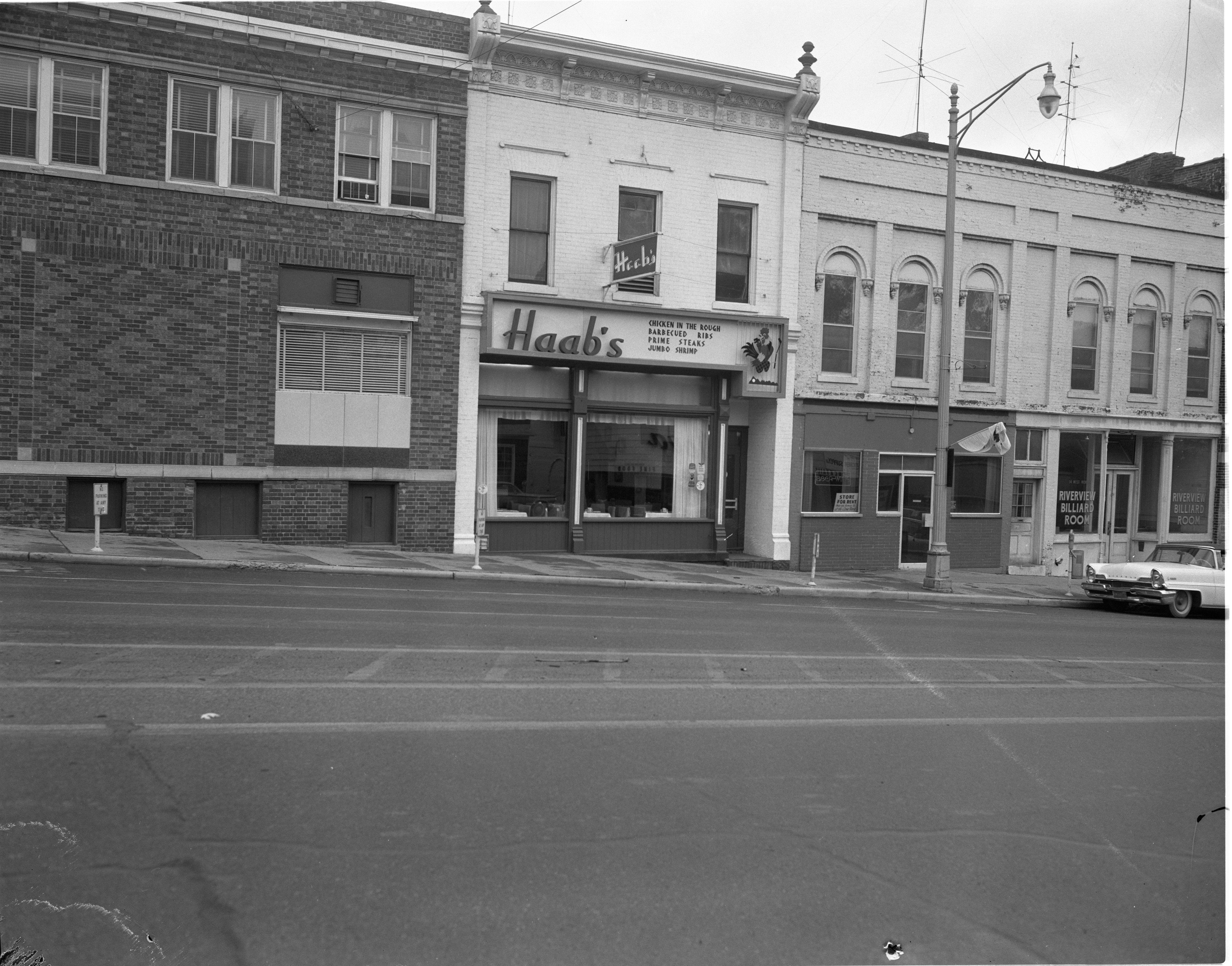 Haab's Restaurant, 18 W. Michigan Avenue, Ypsilanti - November 1961 image