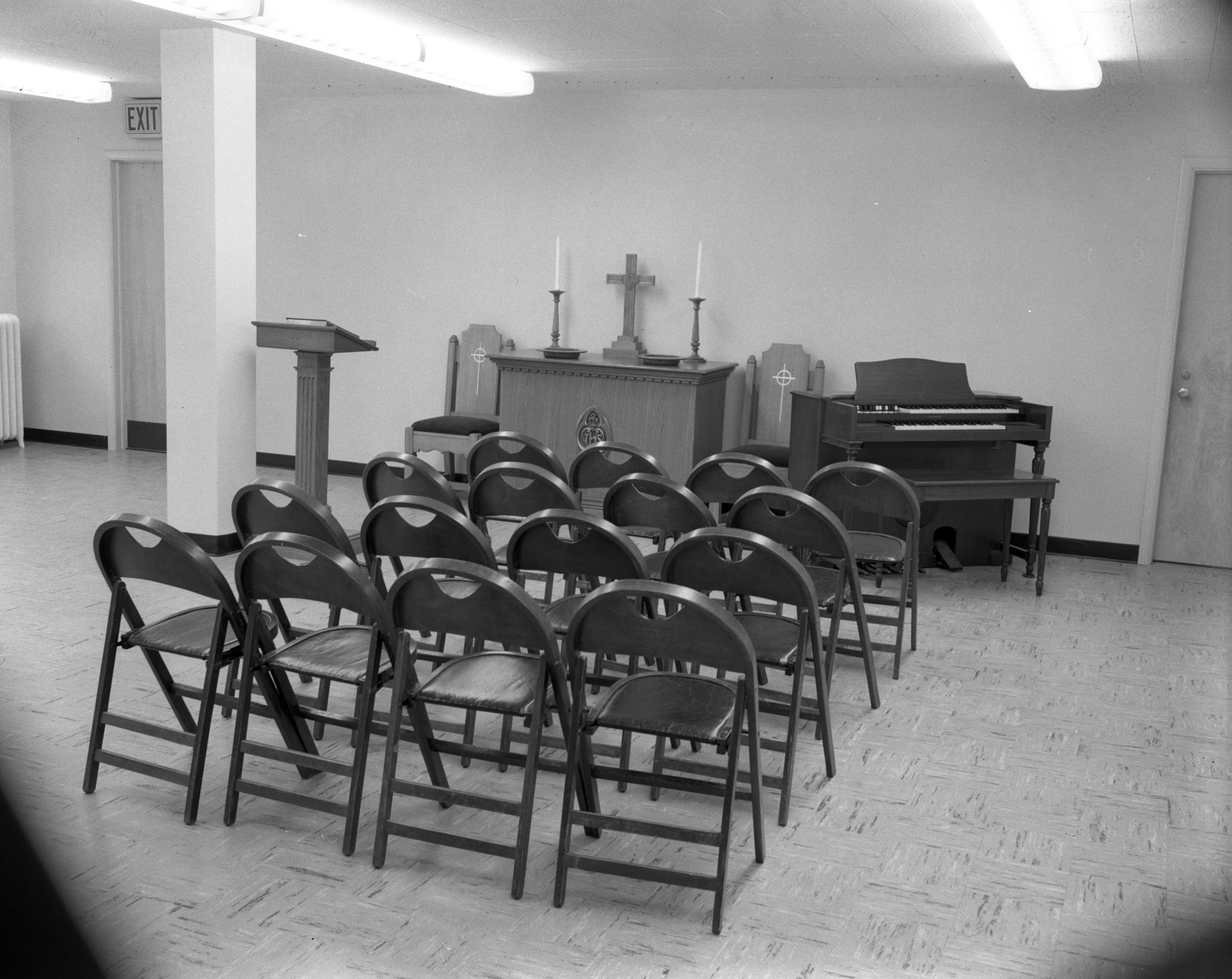 Addition to First Presbyterian Church of Ypsilanti, January 1958 image
