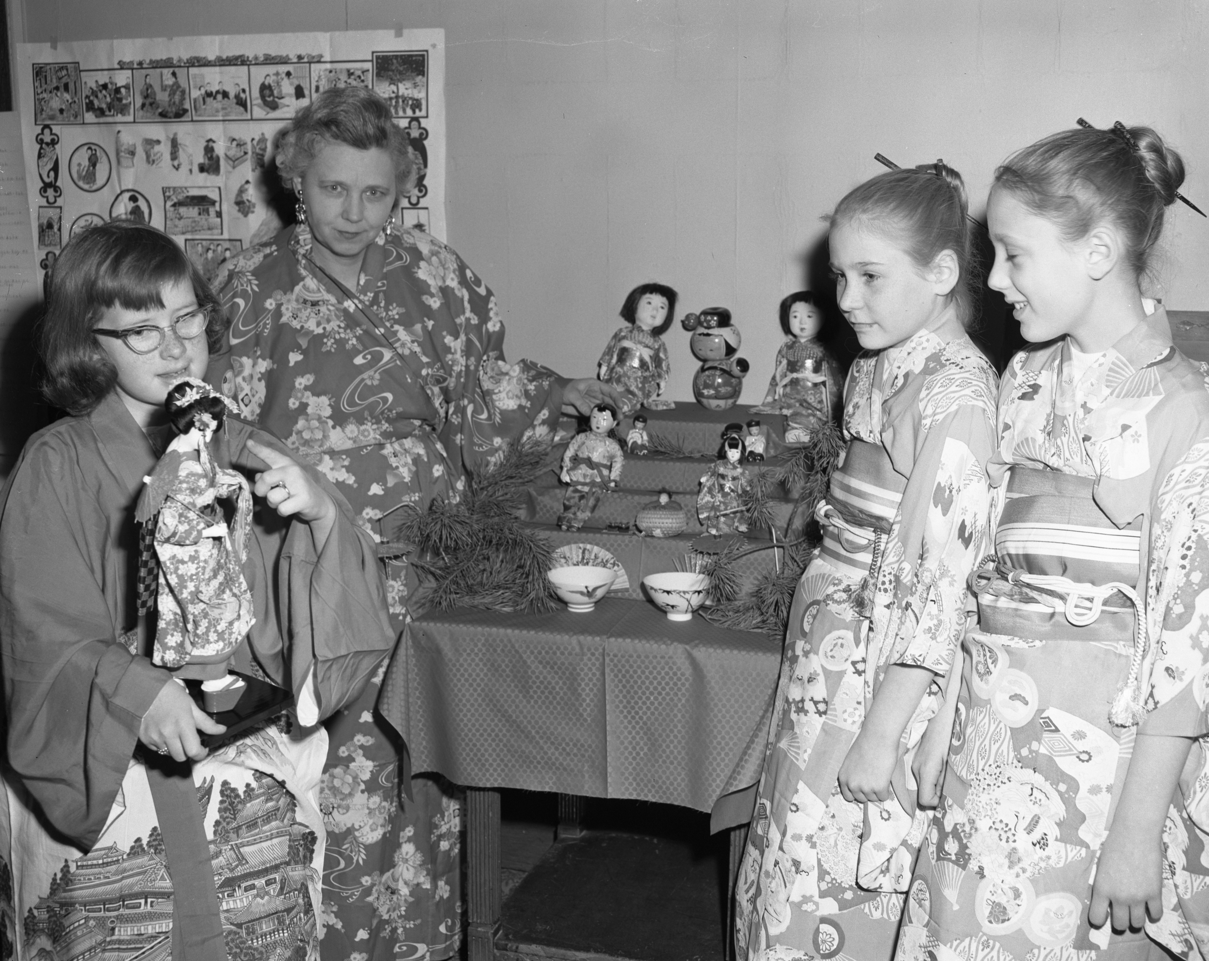 Japanese Program at Ypsilanti First Methodist Church, February 1958 image